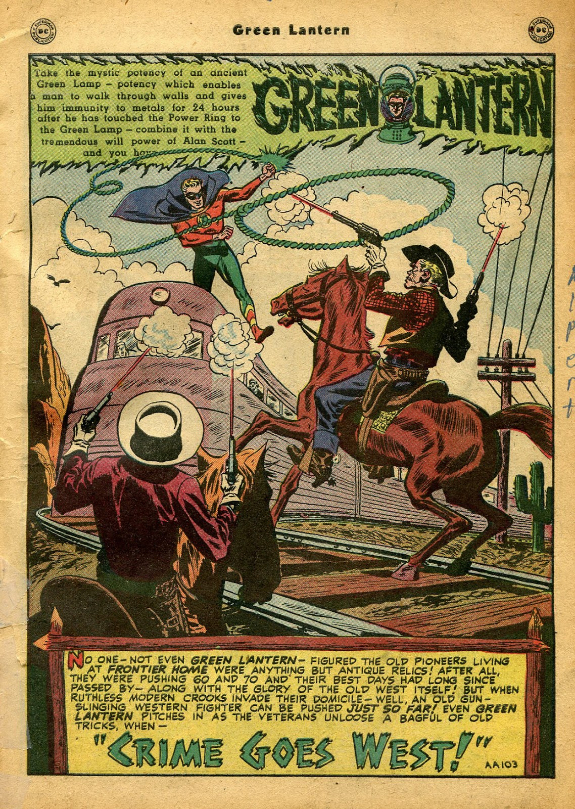 Green Lantern (1941) Issue #33 #33 - English 4