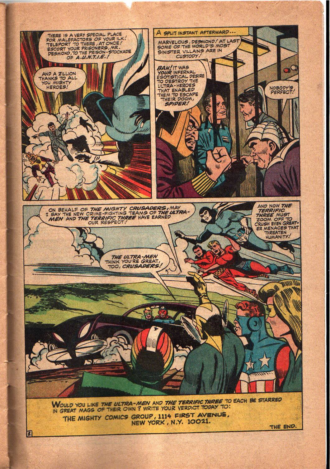 The Mighty Crusaders (1965) Issue #5 #5 - English 25