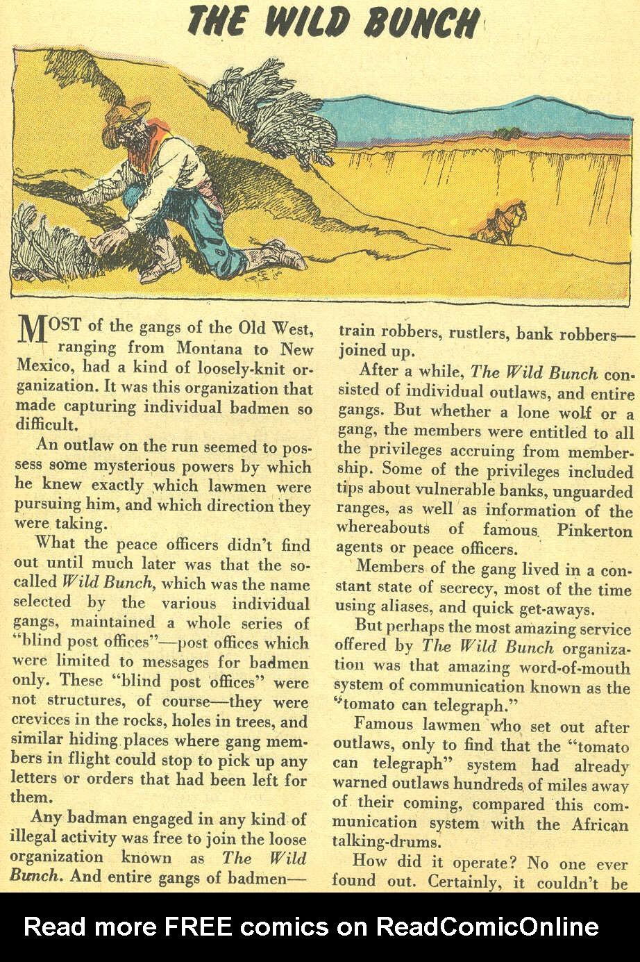 Read online All-Star Western (1951) comic -  Issue #92 - 25