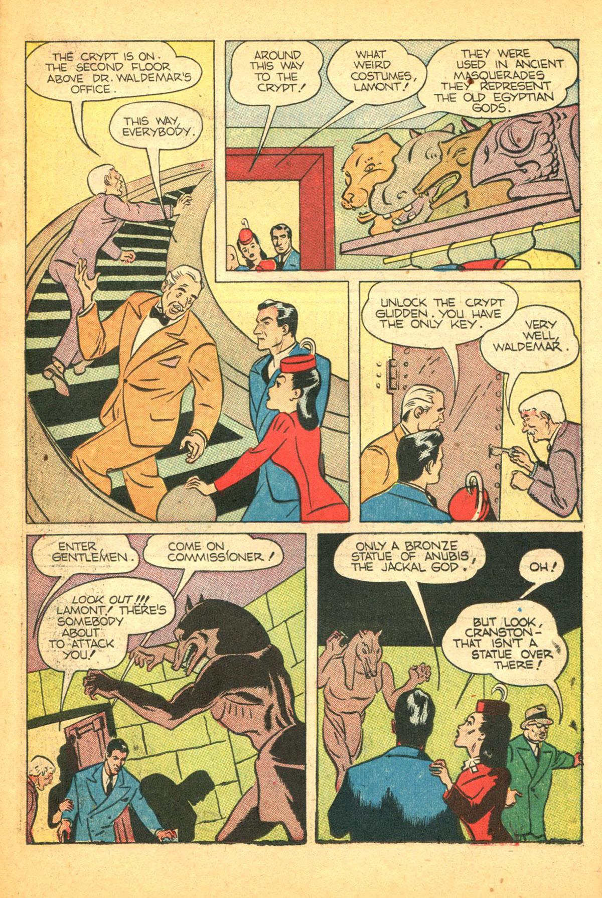 Read online Shadow Comics comic -  Issue #38 - 19