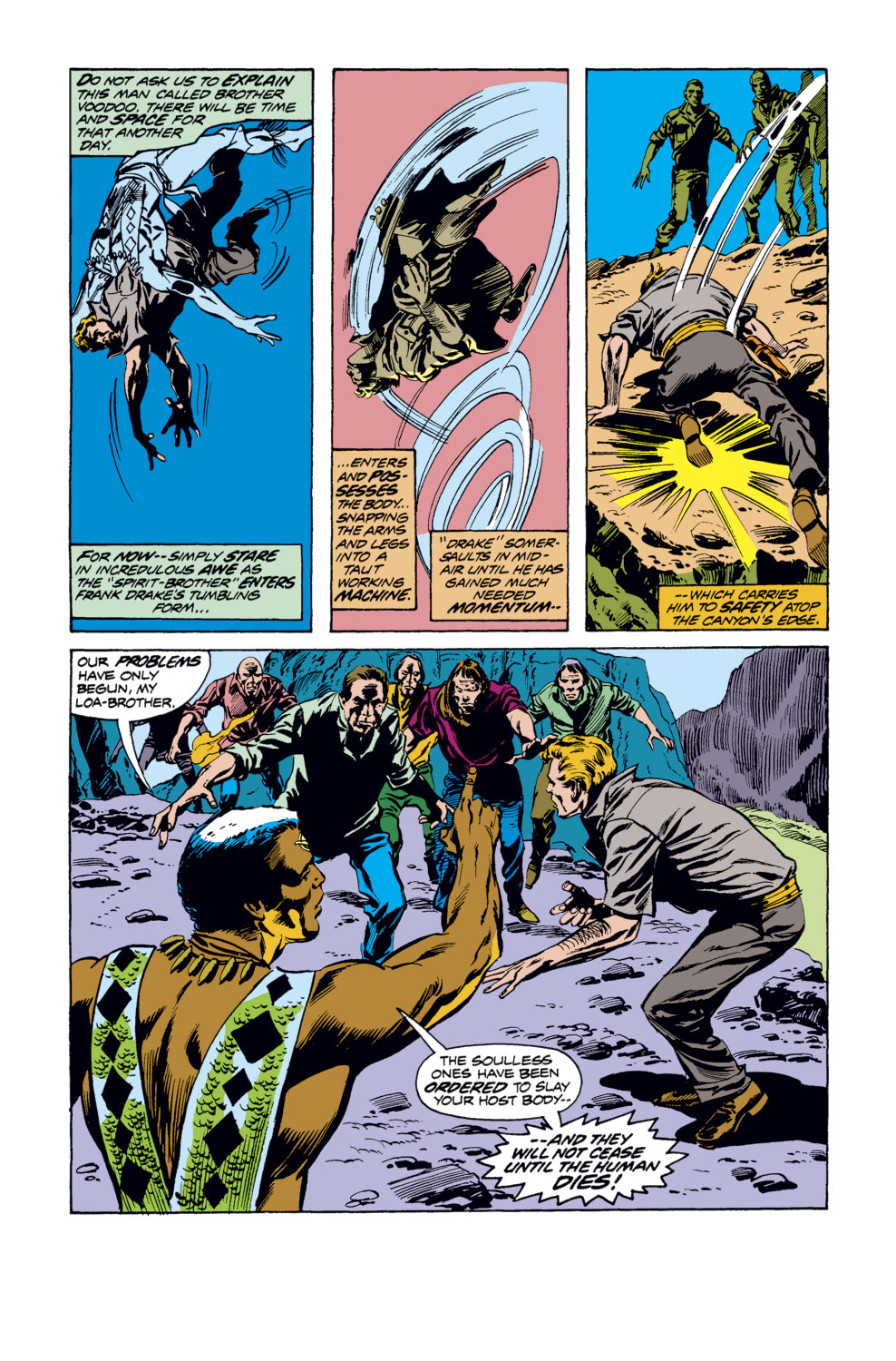 Tomb of Dracula (1972) issue 34 - Page 5