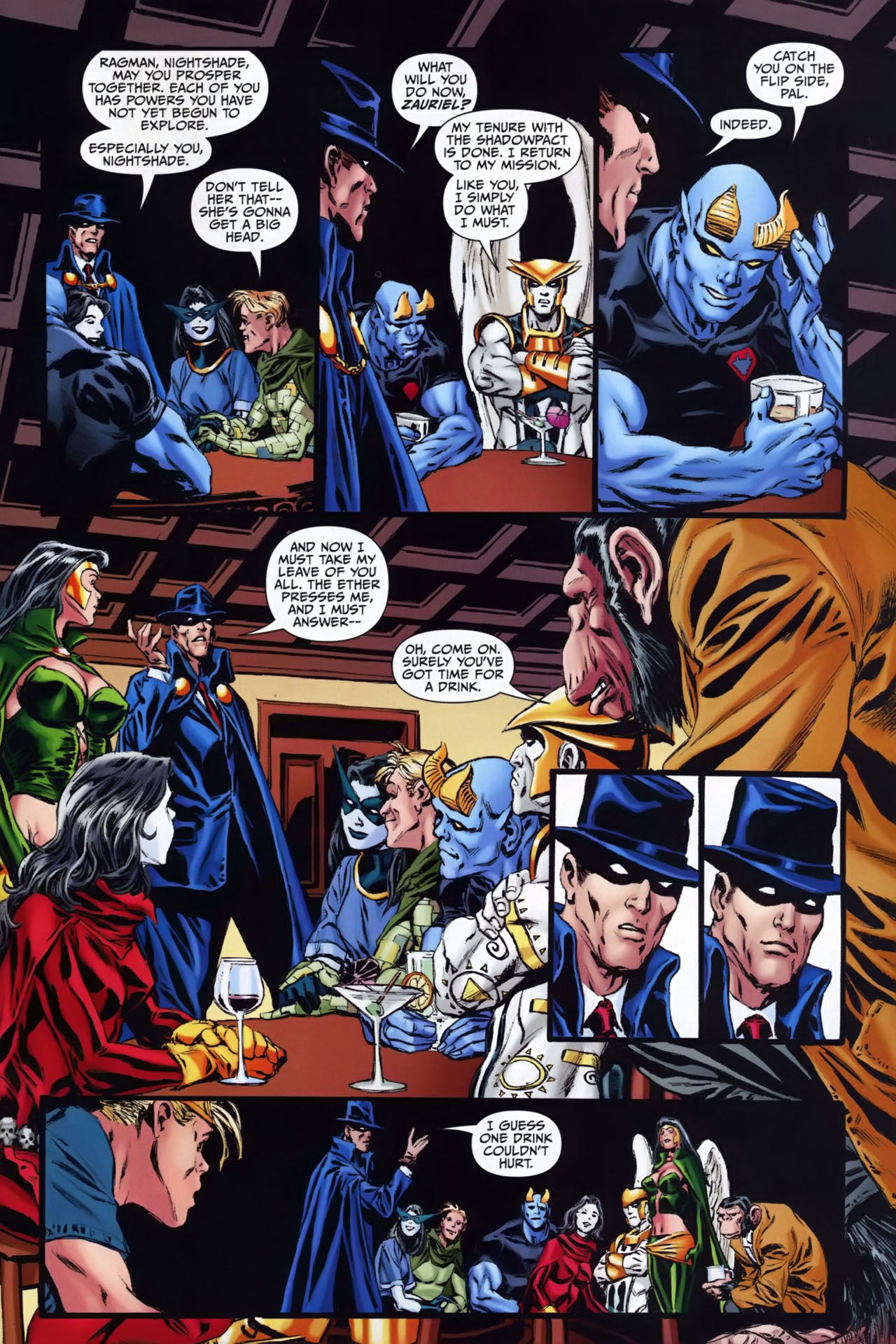 Read online Shadowpact comic -  Issue #25 - 21
