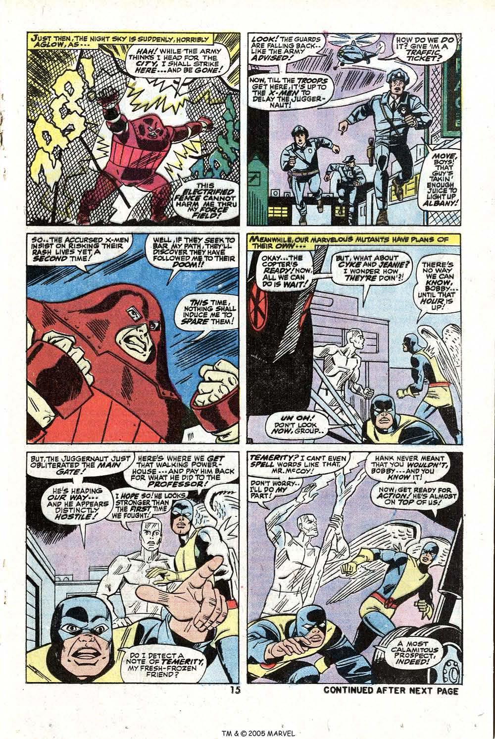 Read online Uncanny X-Men (1963) comic -  Issue #81 - 17
