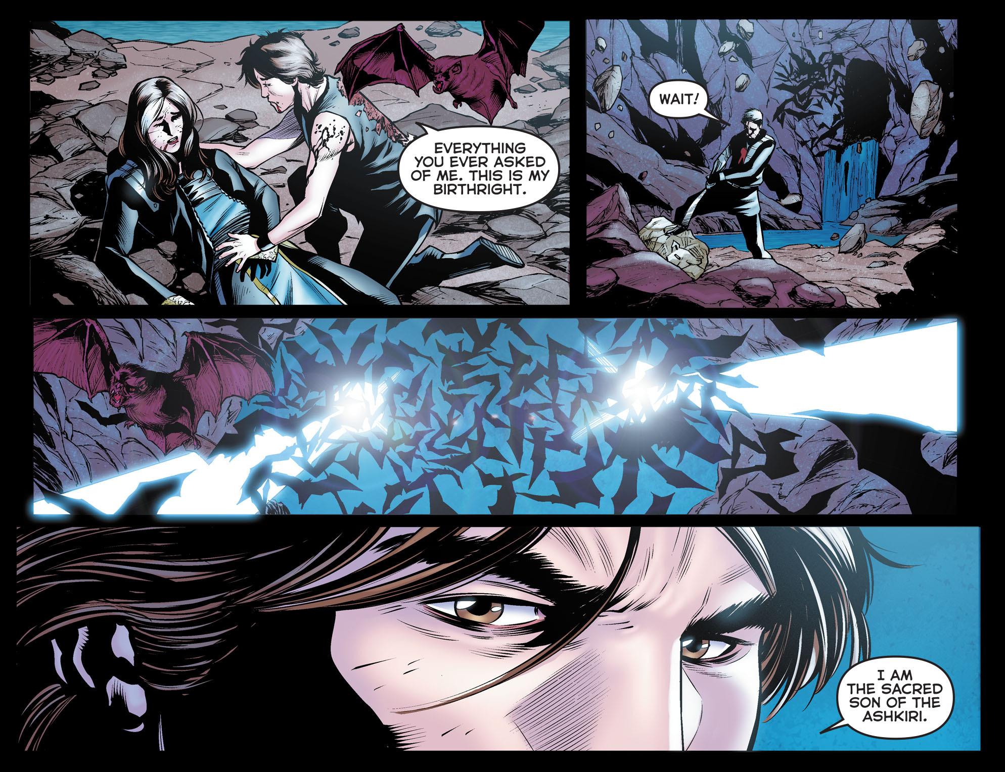 Read online Arrow: The Dark Archer comic -  Issue #12 - 12