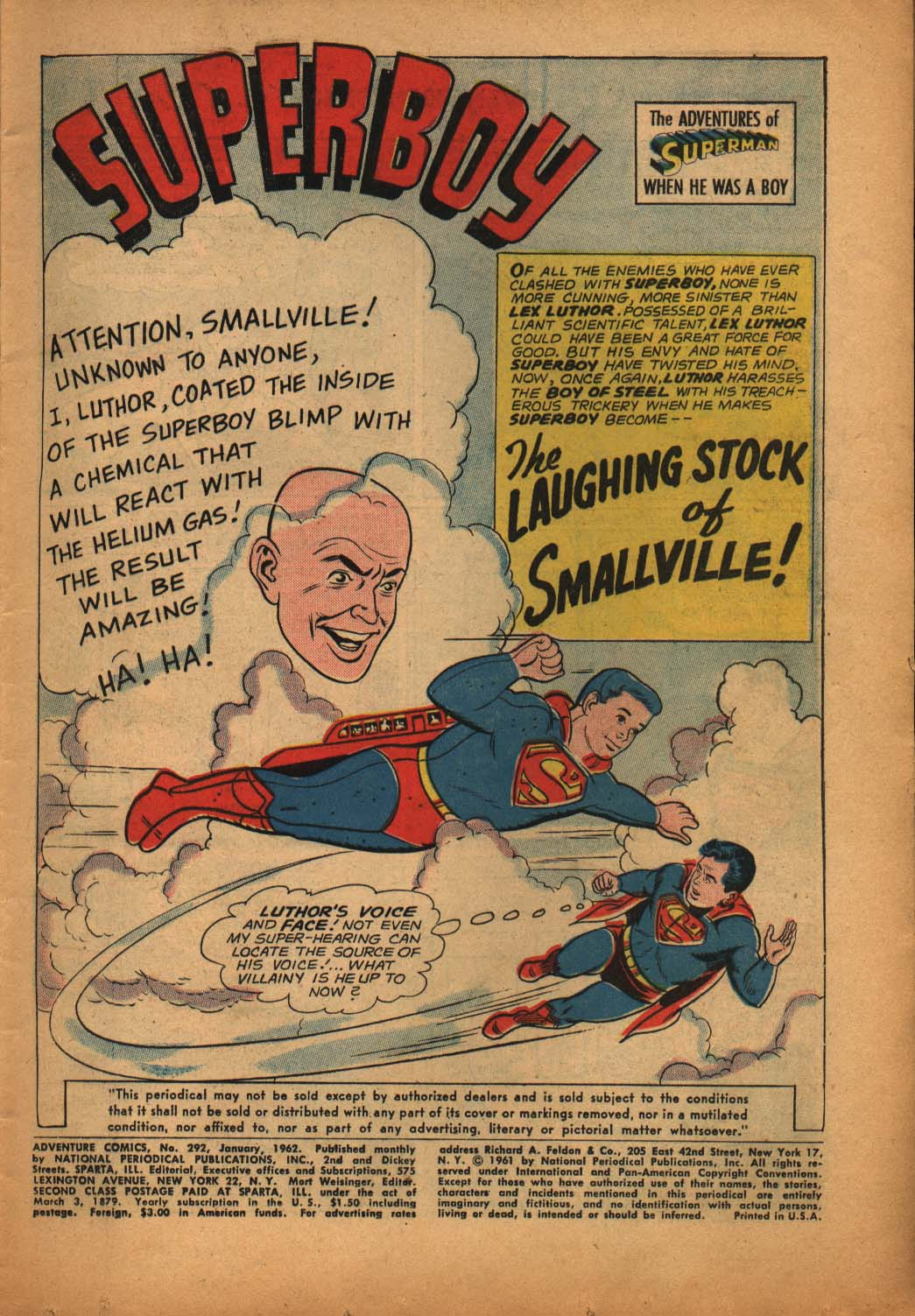 Read online Adventure Comics (1938) comic -  Issue #292 - 3