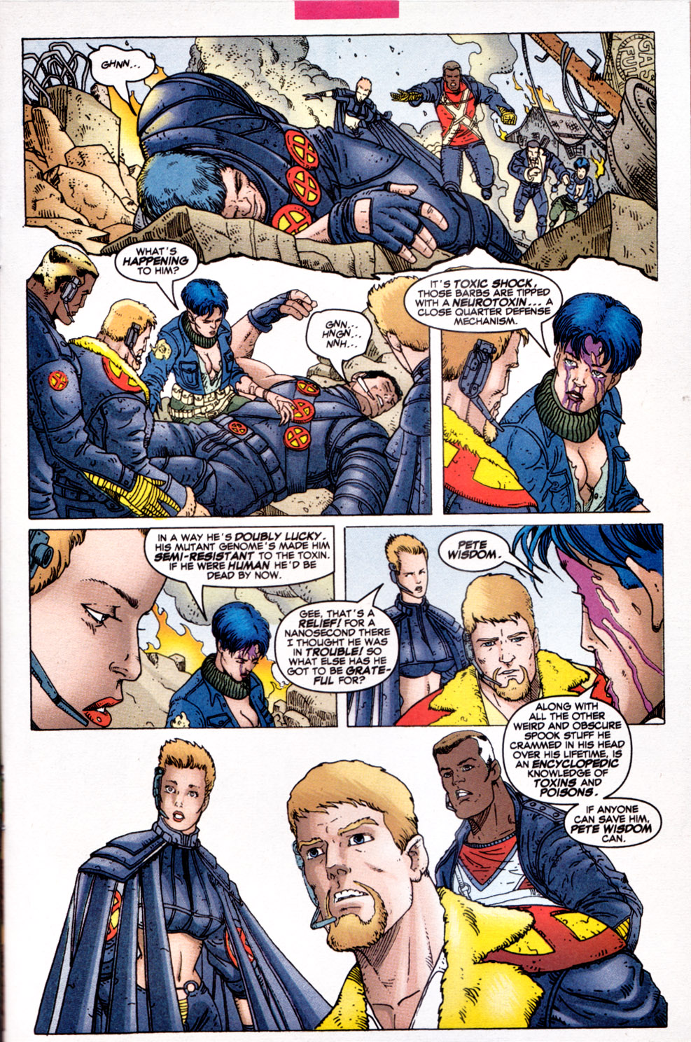 Read online X-Force (1991) comic -  Issue #111 - 6