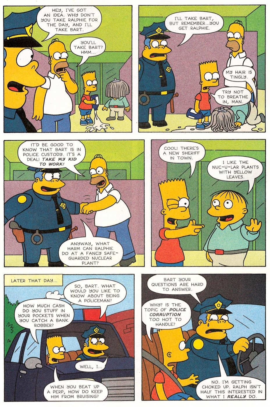 Read online Simpsons Comics Presents Bart Simpson comic -  Issue #29 - 4