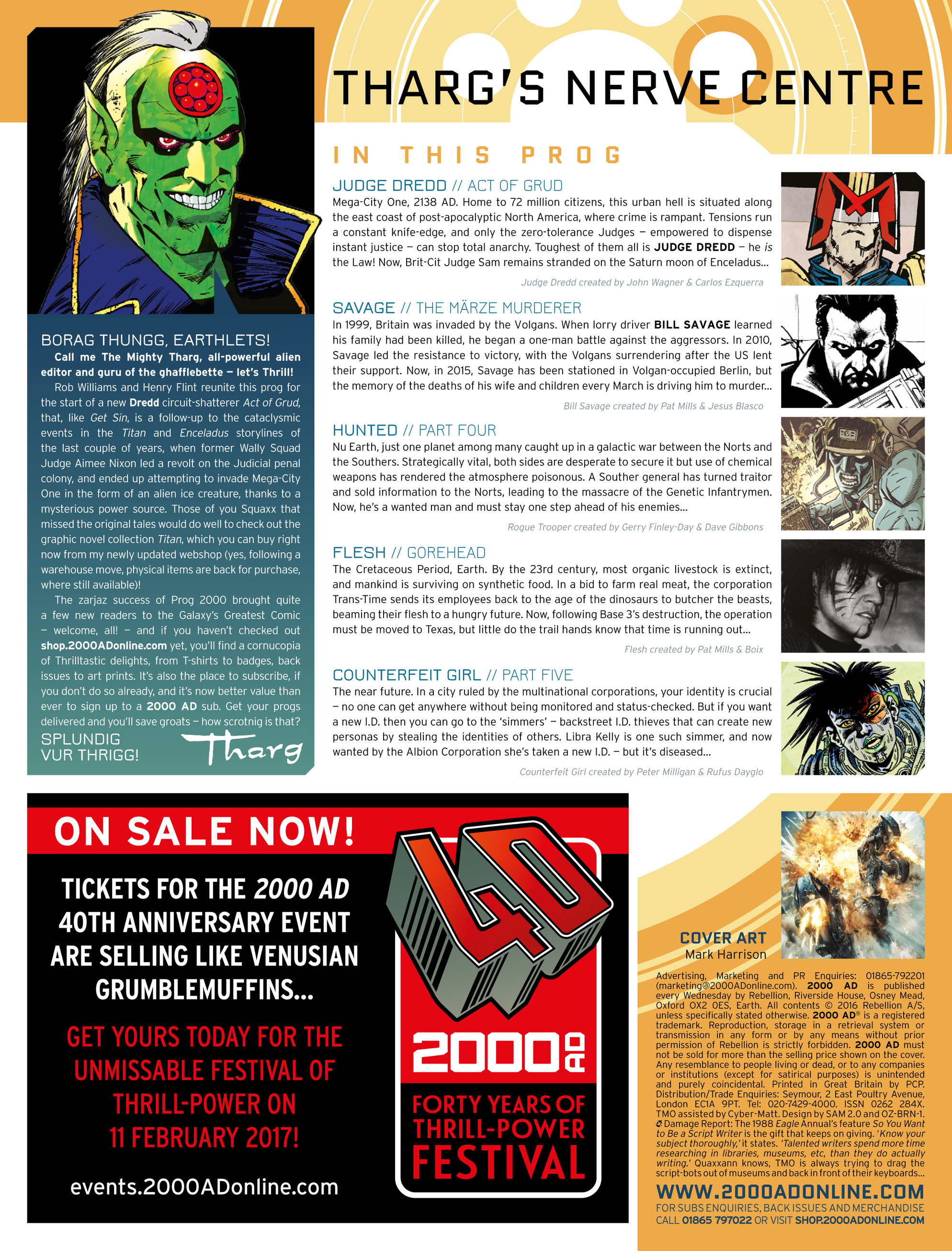Read online 2000 AD comic -  Issue #2004 - 2