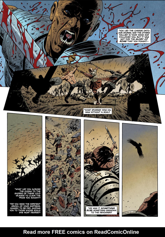 Read online Aquila comic -  Issue #1 - 9