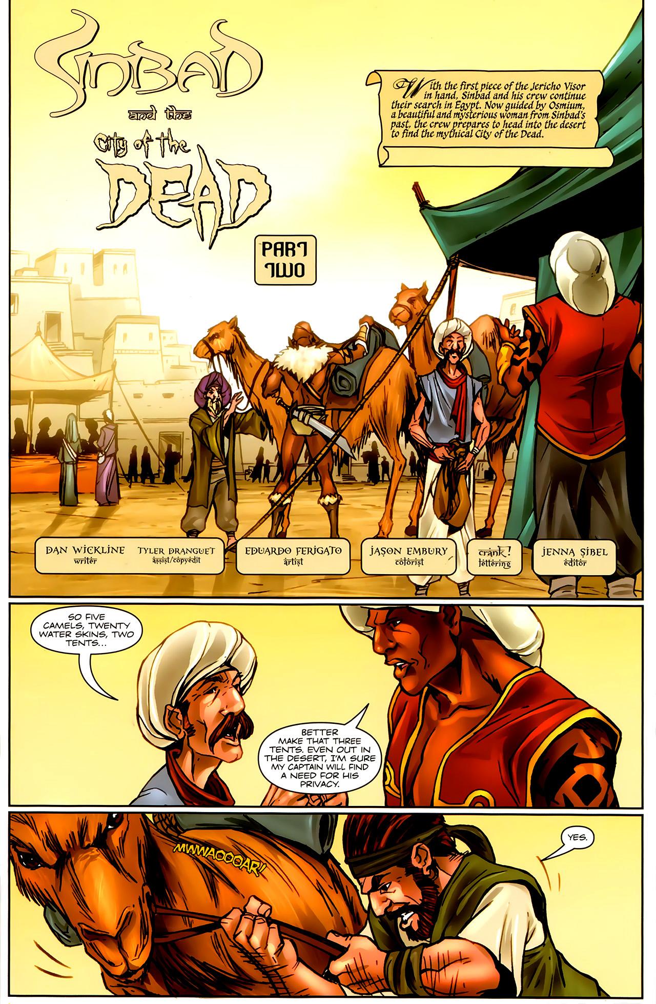 Read online 1001 Arabian Nights: The Adventures of Sinbad comic -  Issue #9 - 3