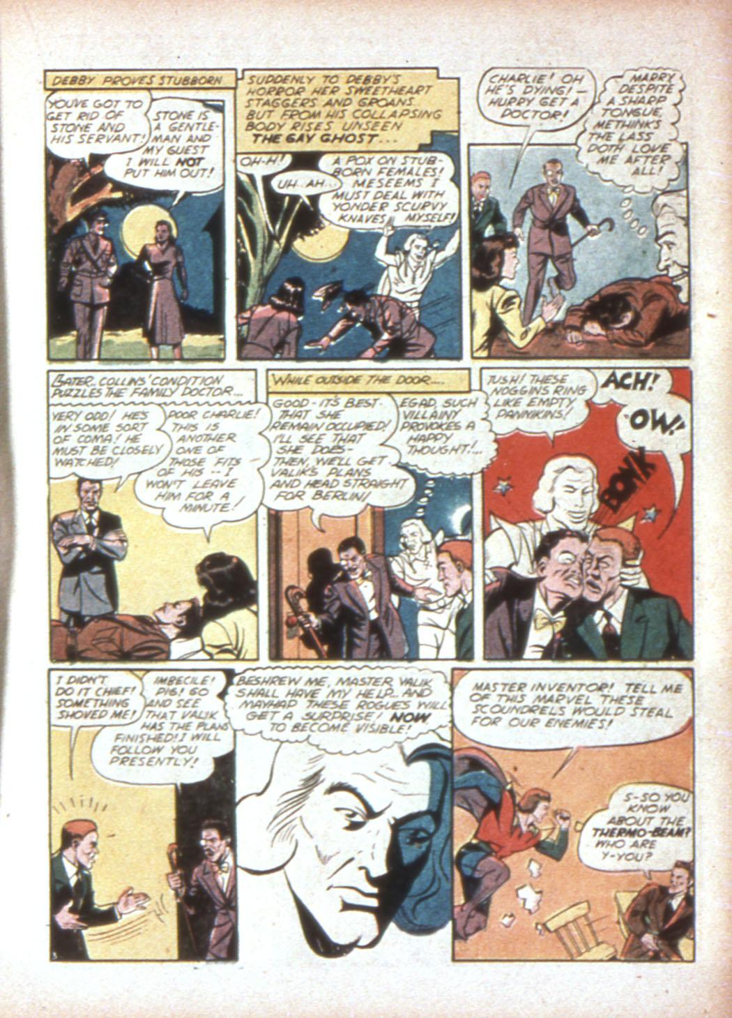 Read online Sensation (Mystery) Comics comic -  Issue #19 - 27