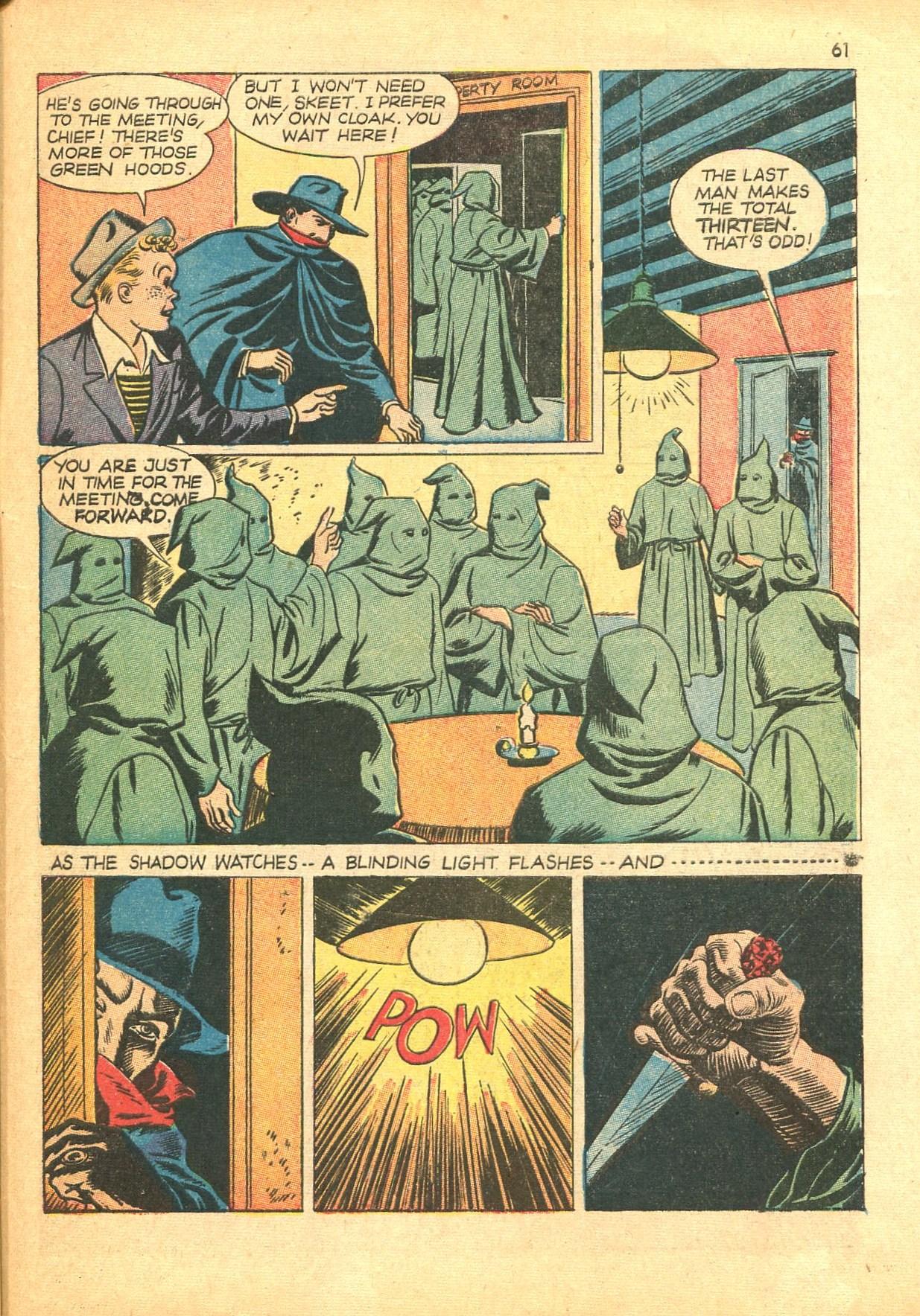 Read online Shadow Comics comic -  Issue #24 - 53