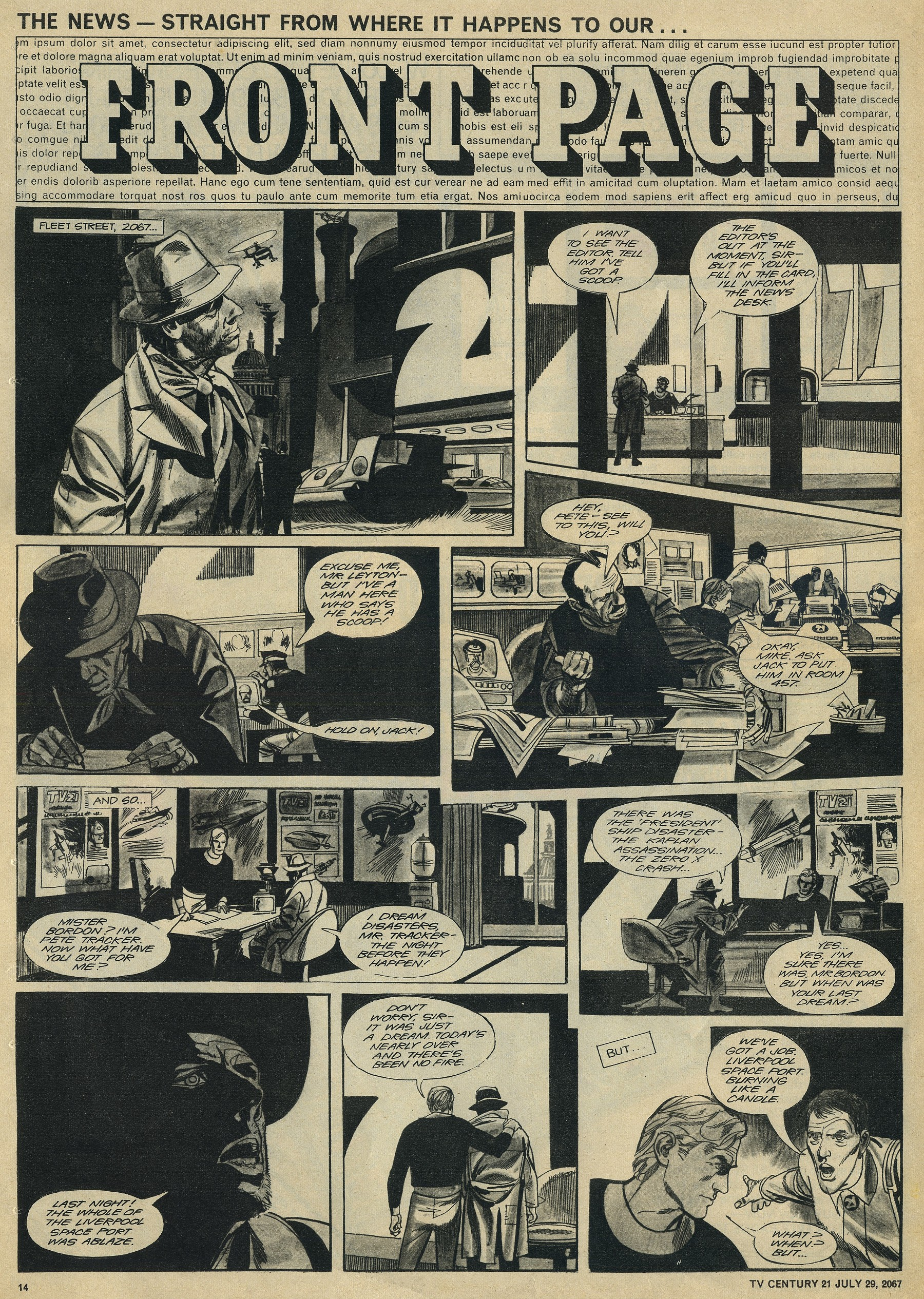 Read online TV Century 21 (TV 21) comic -  Issue #132 - 13