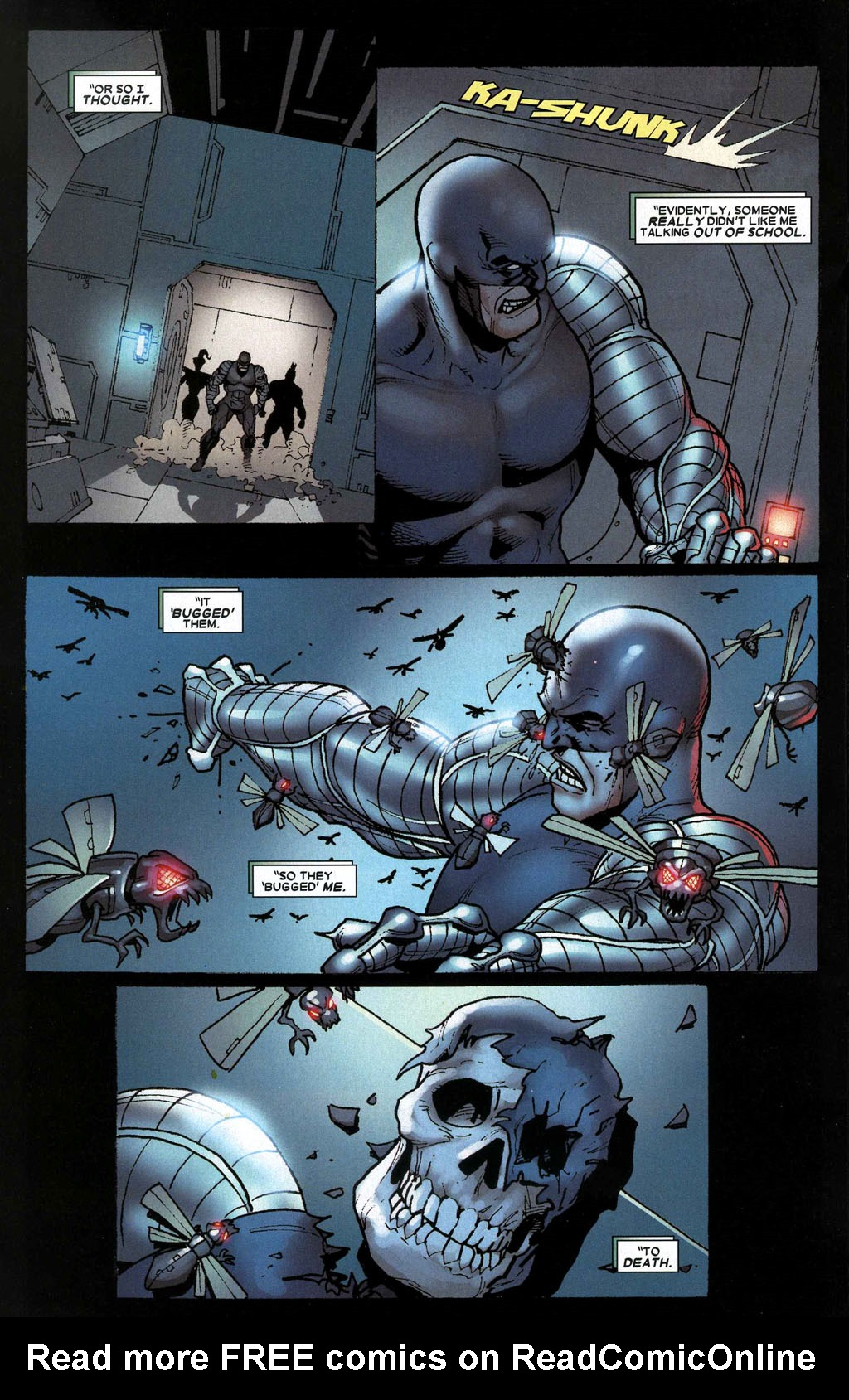 Read online Wolverine: Origins comic -  Issue #12 - 16
