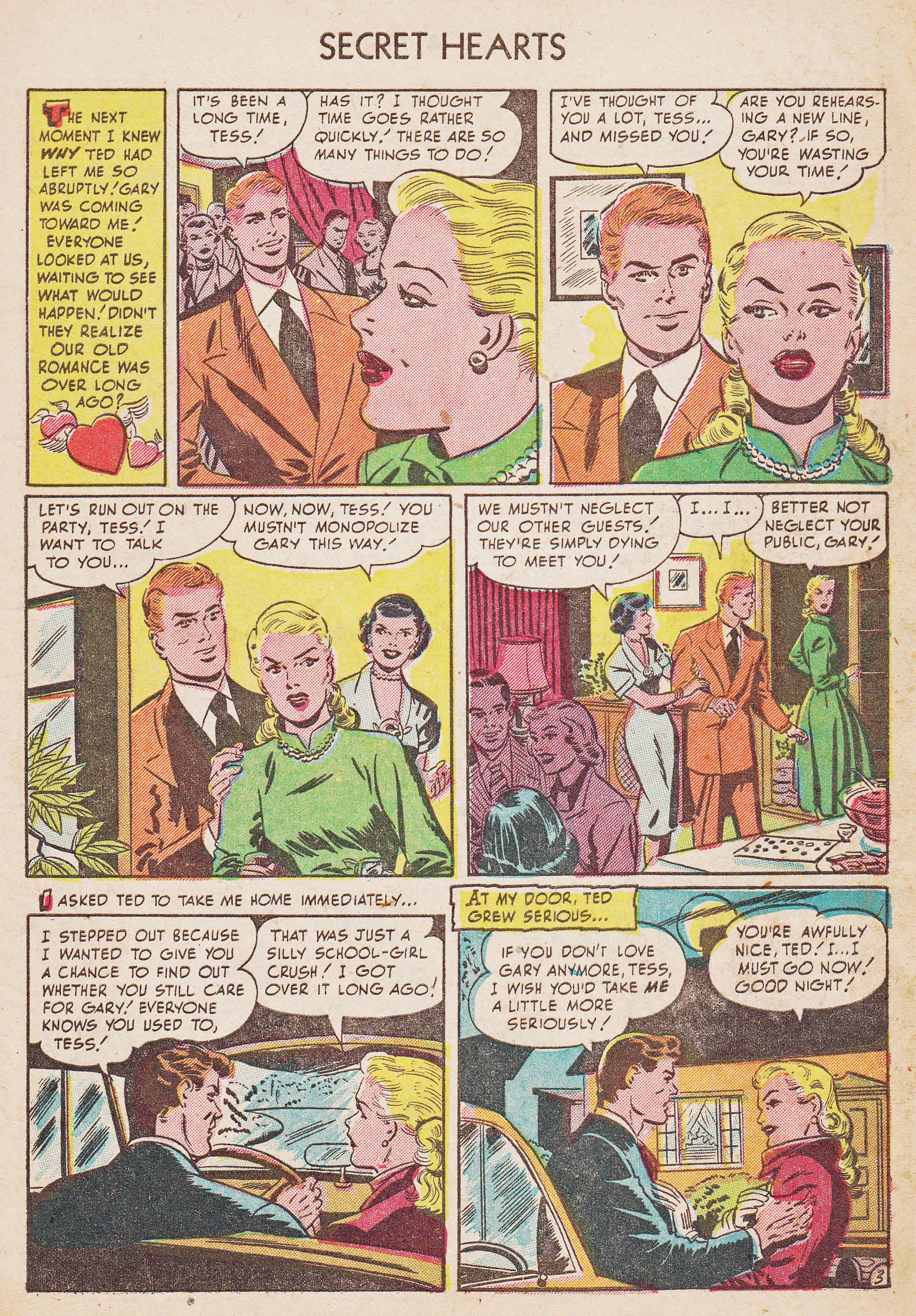 Read online Secret Hearts comic -  Issue #7 - 5