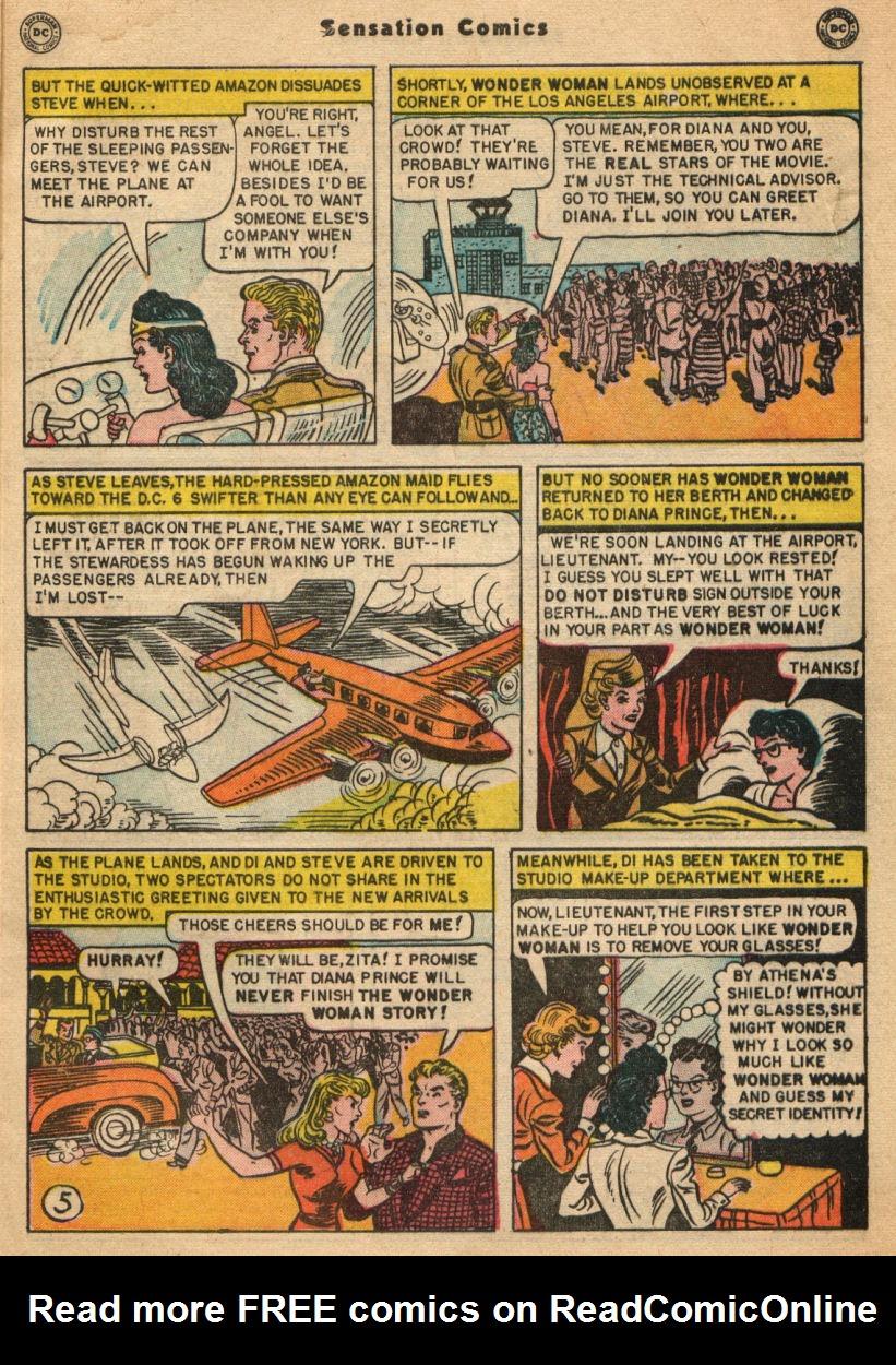 Read online Sensation (Mystery) Comics comic -  Issue #100 - 7