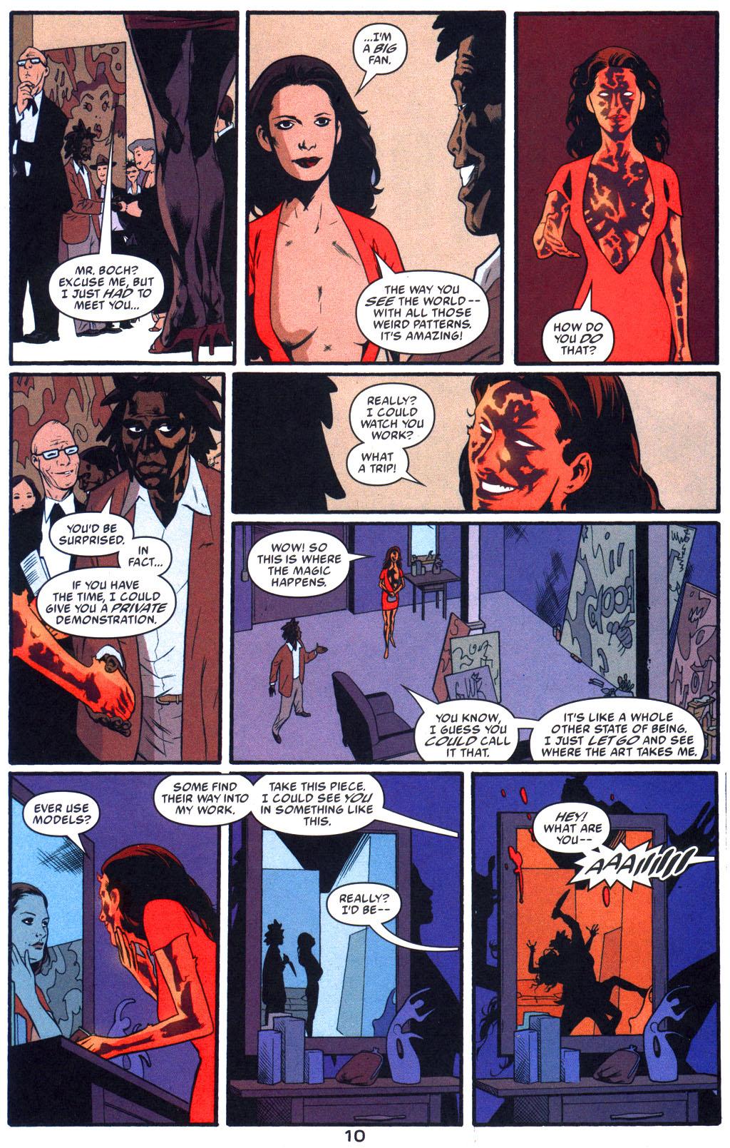Read online Arkham Asylum: Living Hell comic -  Issue #5 - 12