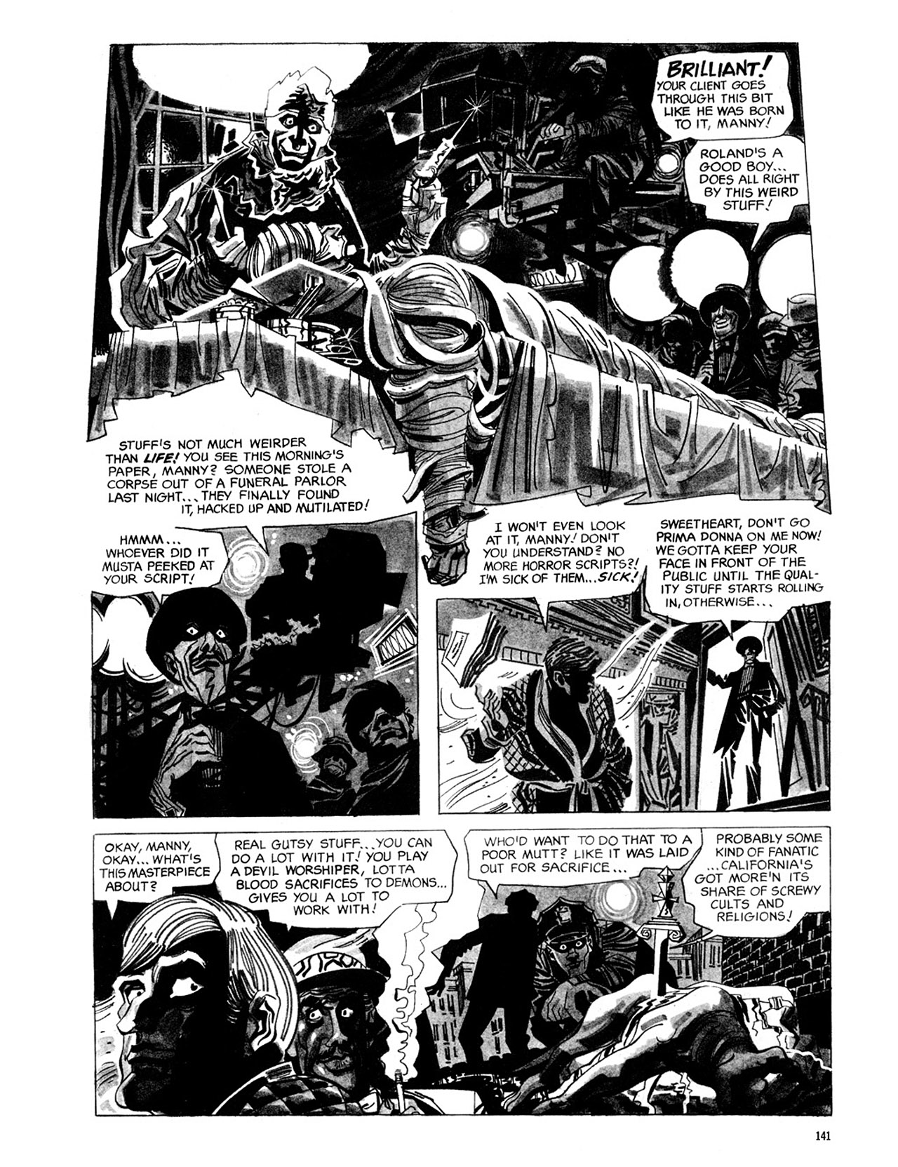 Read online Eerie Archives comic -  Issue # TPB 2 - 142