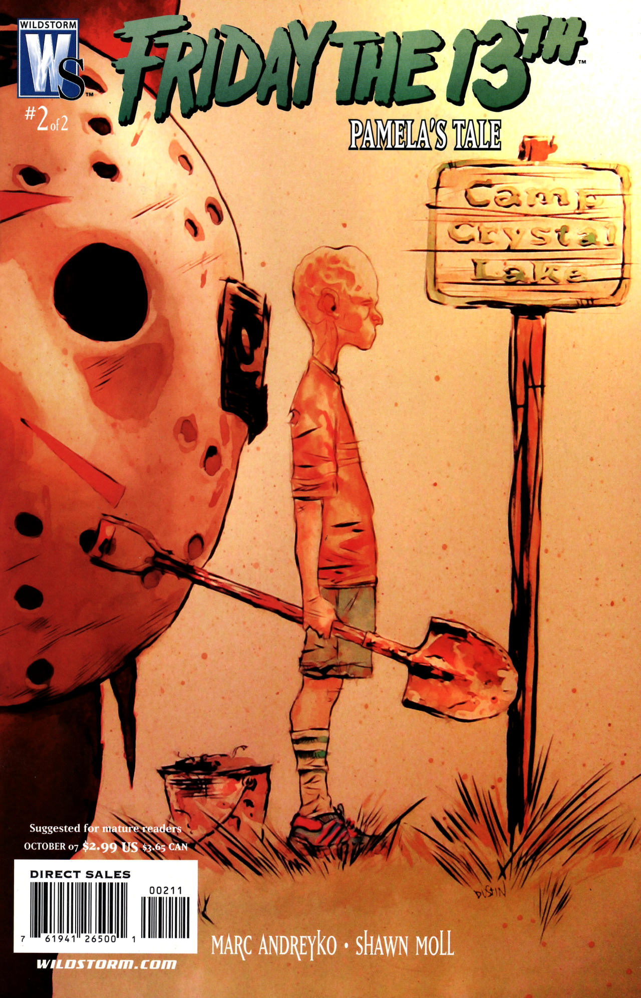 Read online Friday the 13th: Pamela's Tale comic -  Issue #2 - 1