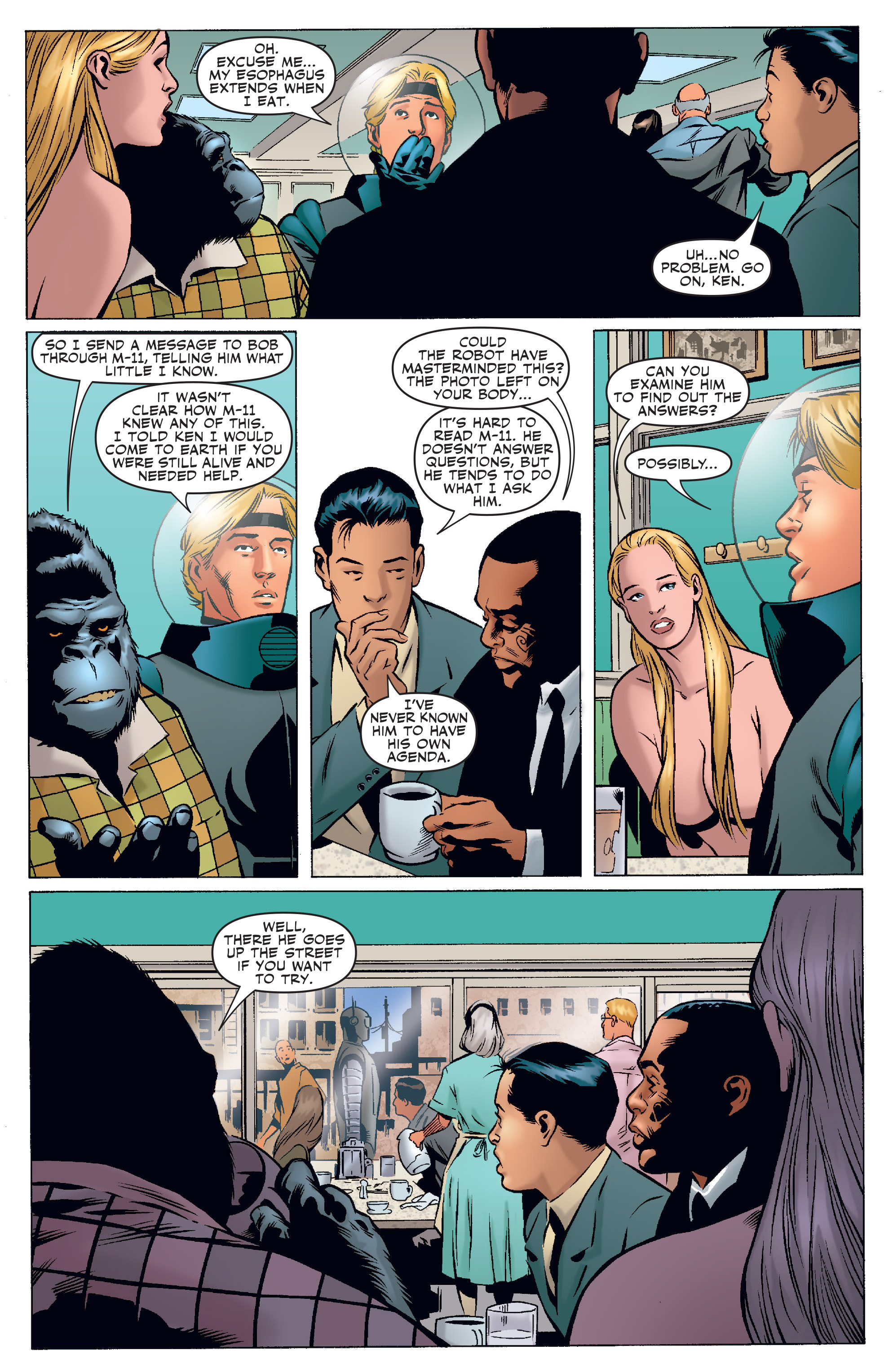 Read online Agents Of Atlas (2006) comic -  Issue #3 - 14