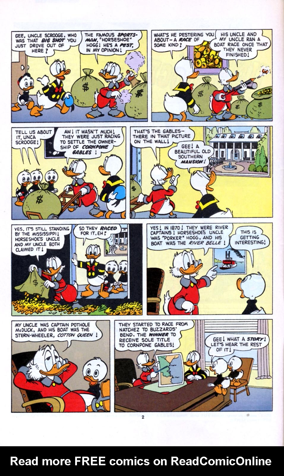 Read online Uncle Scrooge (1953) comic -  Issue #277 - 3