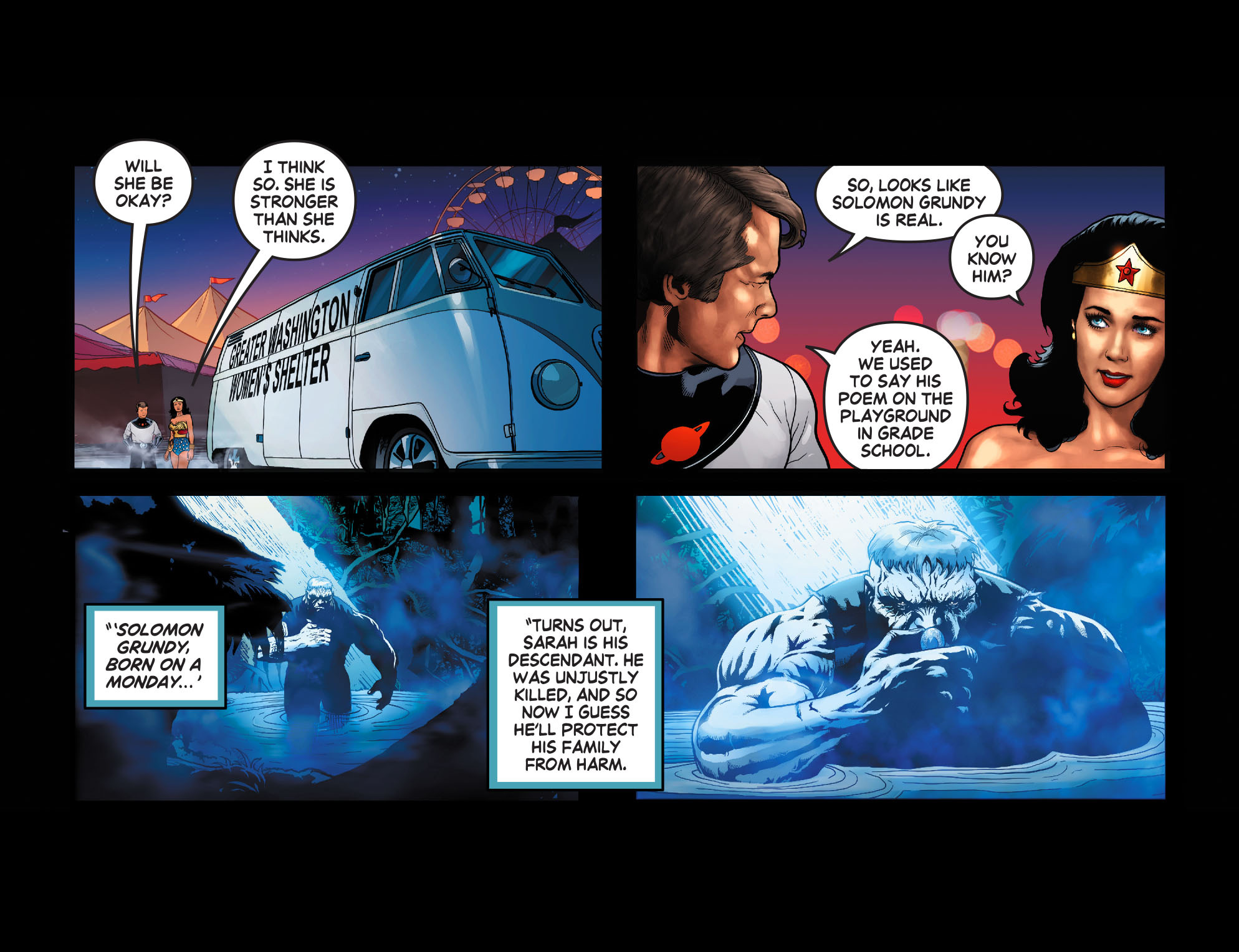 Read online Wonder Woman '77 [I] comic -  Issue #13 - 22