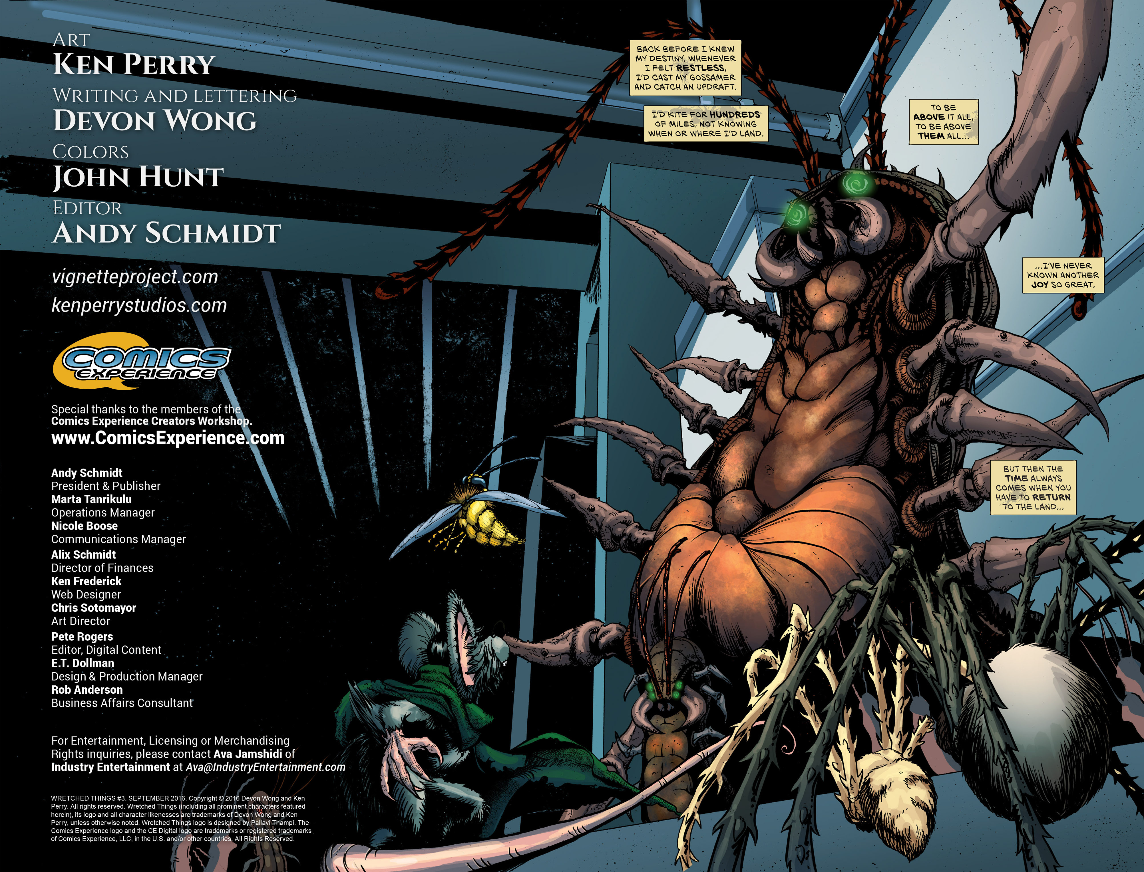 Read online Wretched Things comic -  Issue #3 - 2