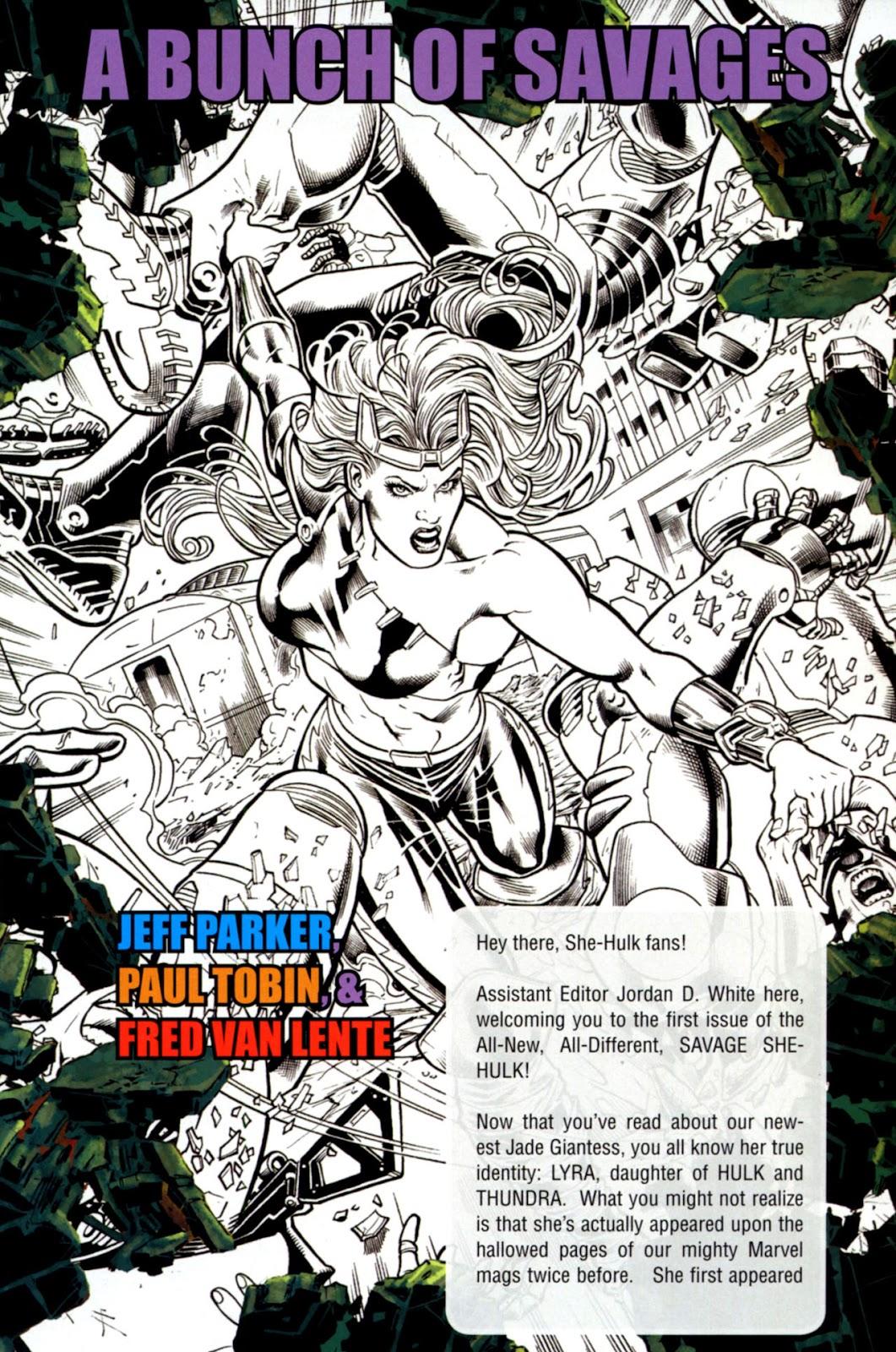 Savage She-Hulk Issue #1 #1 - English 26