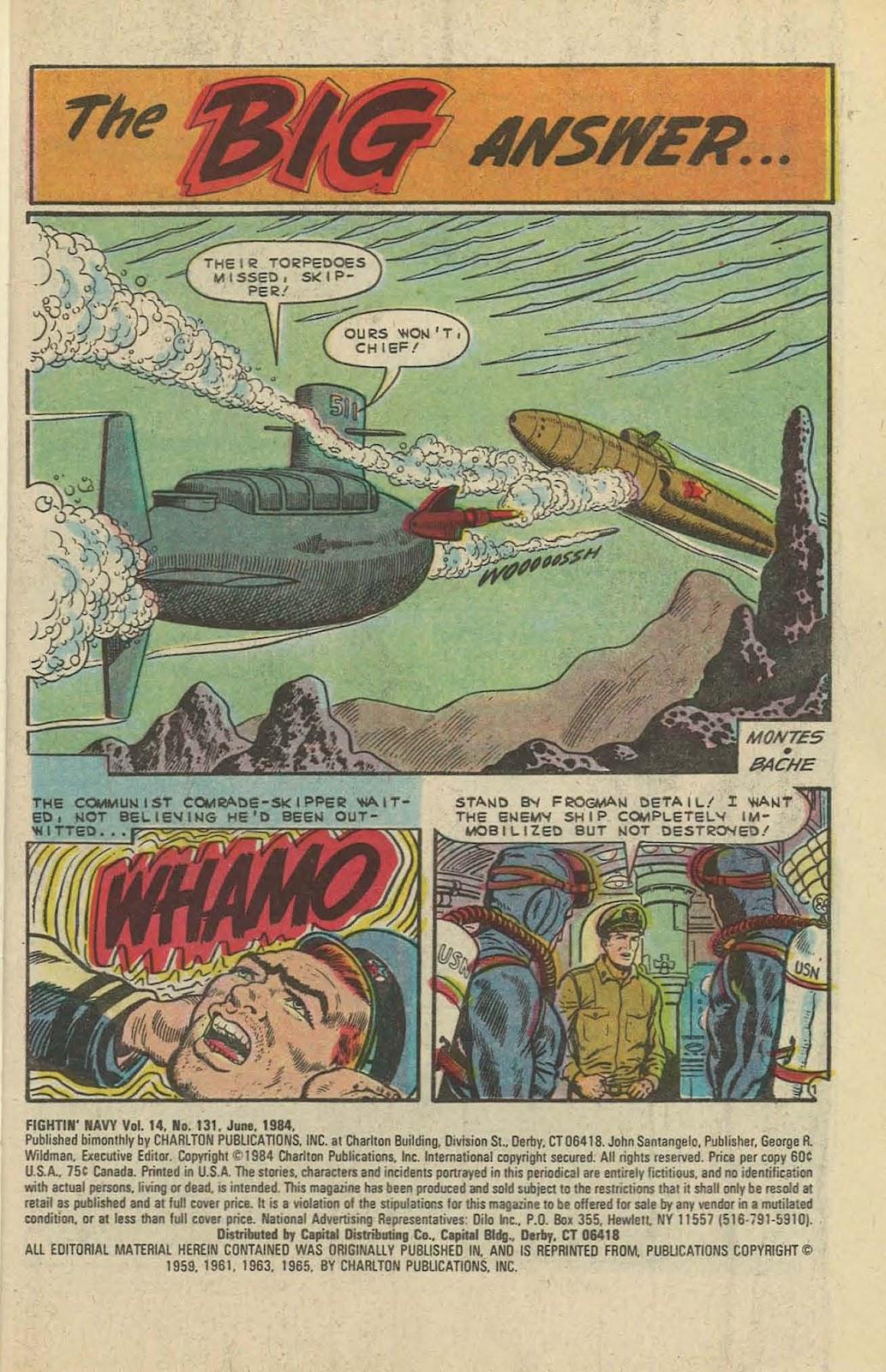Read online Fightin' Navy comic -  Issue #131 - 3