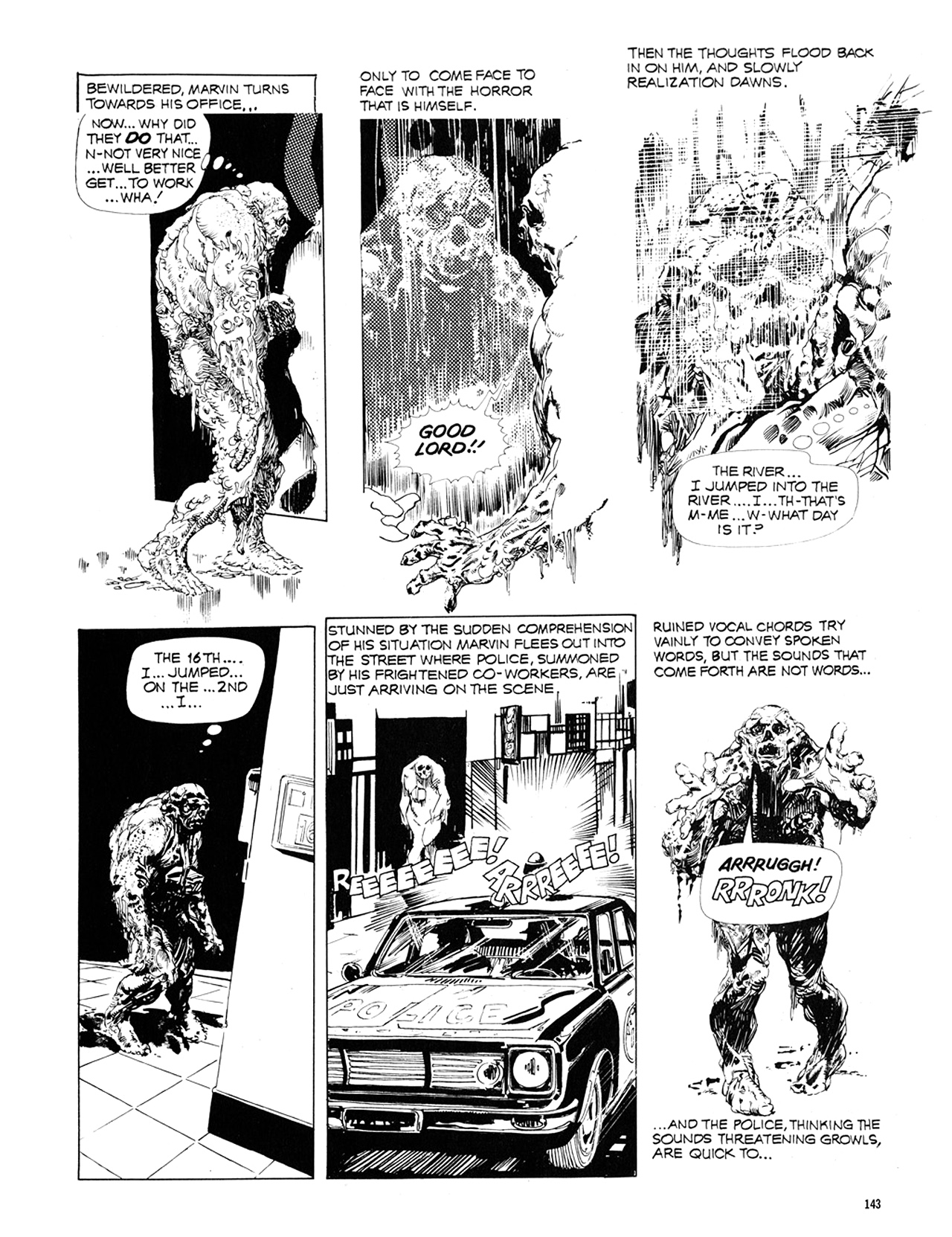 Read online Eerie Archives comic -  Issue # TPB 10 - 144