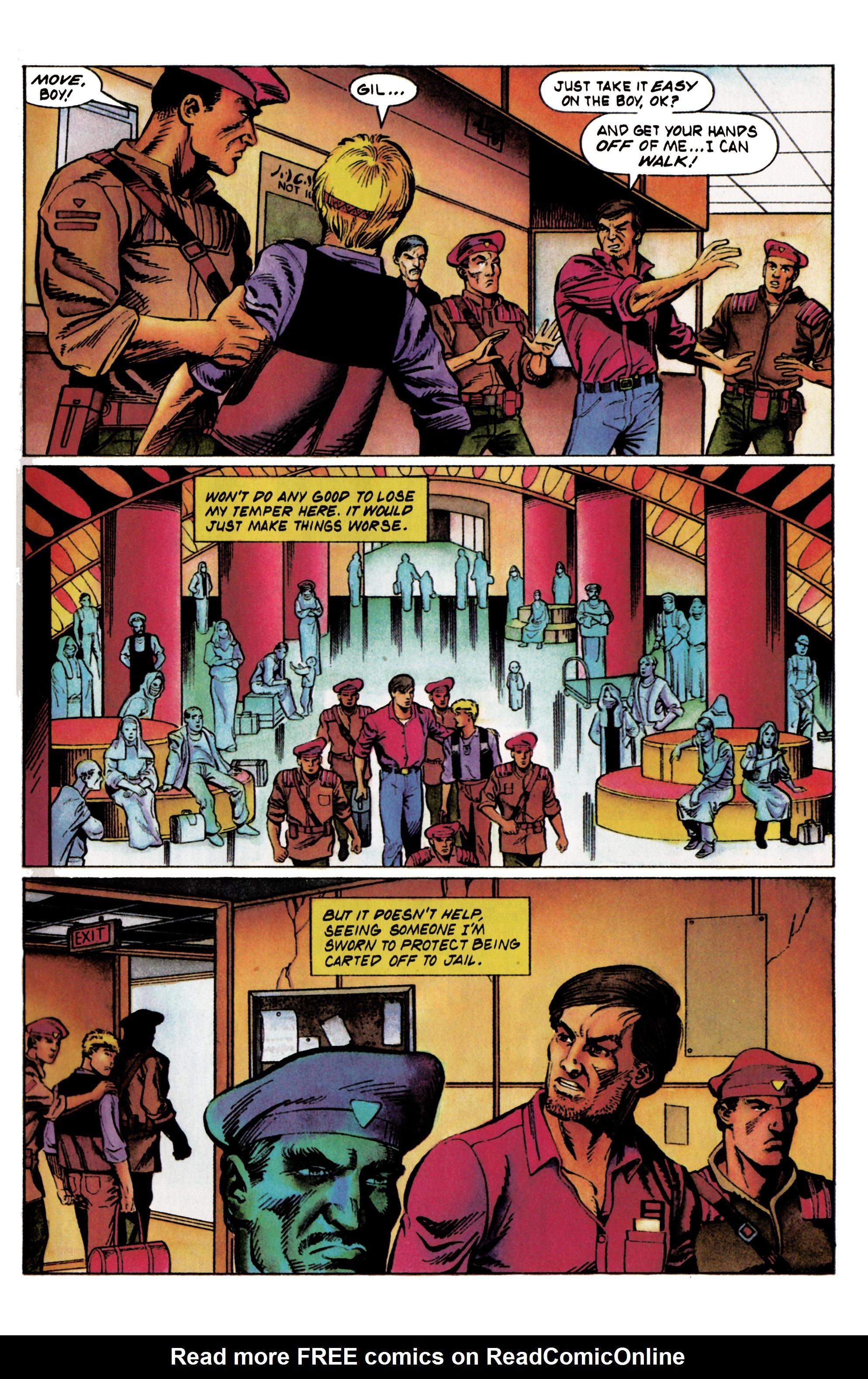 Read online Eternal Warrior (1992) comic -  Issue #20 - 7