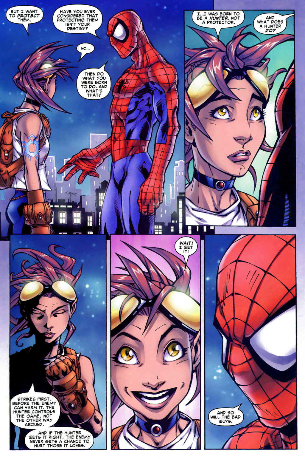 Read online Araña: Heart of the Spider comic -  Issue #4 - 11