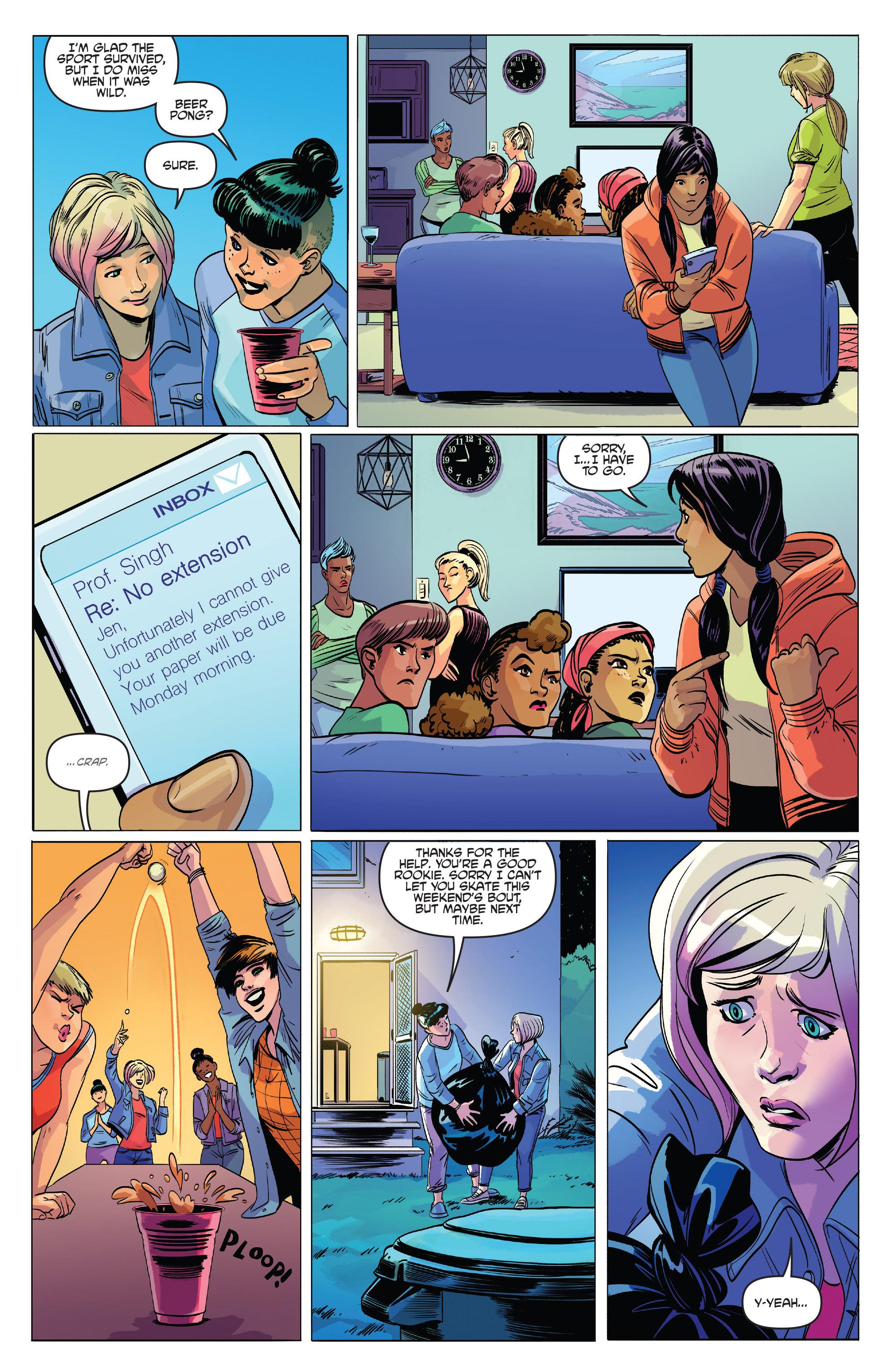 Read online Slam! comic -  Issue #2 - 19