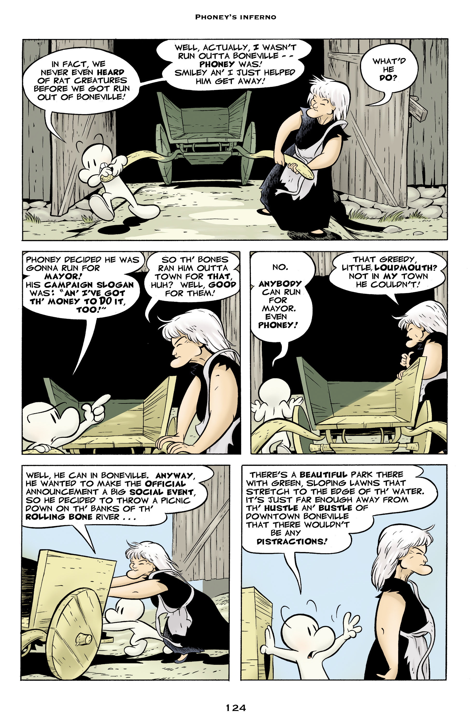 Read online Bone: Out From Boneville comic -  Issue # TPB - 124