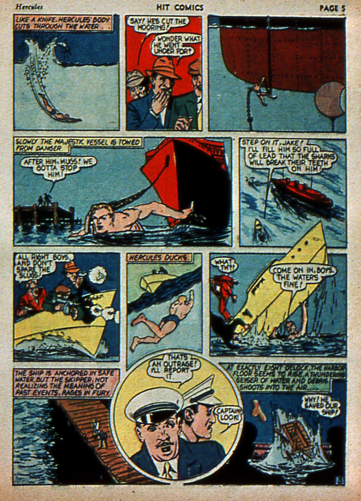 Read online Hit Comics comic -  Issue #3 - 7