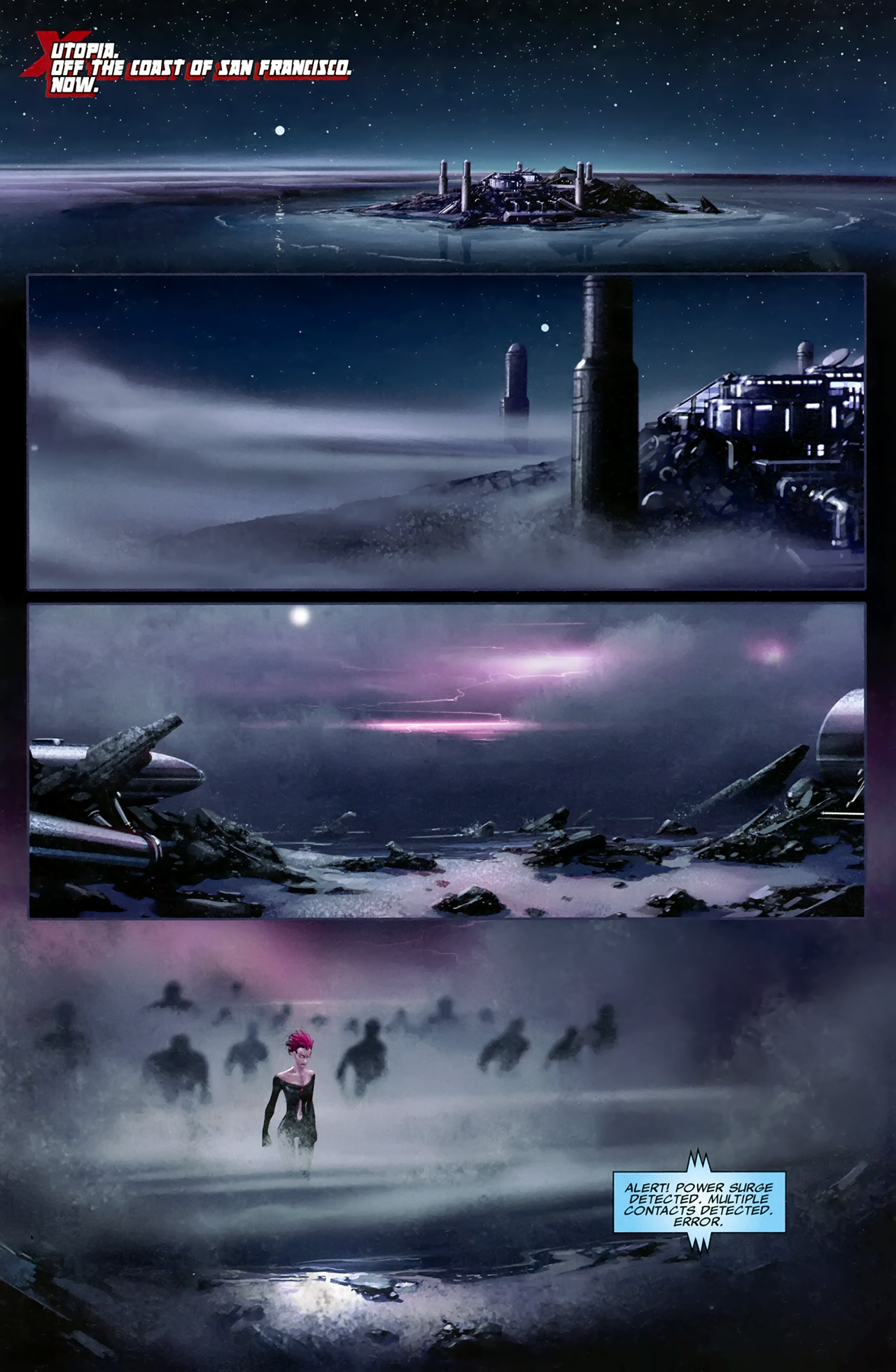 Read online X Necrosha comic -  Issue # Full - 8