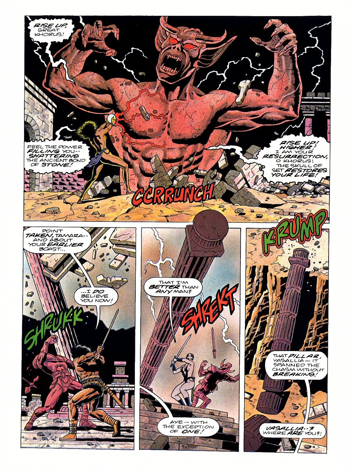 Read online Marvel Graphic Novel: Conan the Barbarian: The Skull of Set comic -  Issue # Full - 47