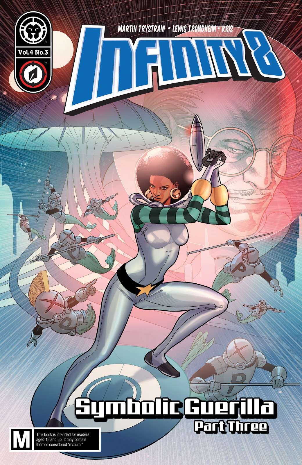 Read online Infinity 8 comic -  Issue #12 - 1
