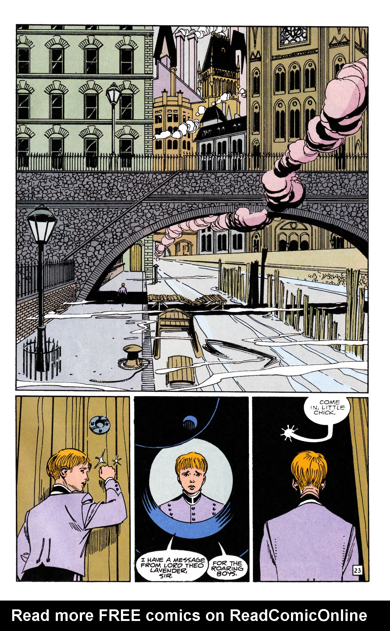 Read online Sebastian O comic -  Issue #1 - 29
