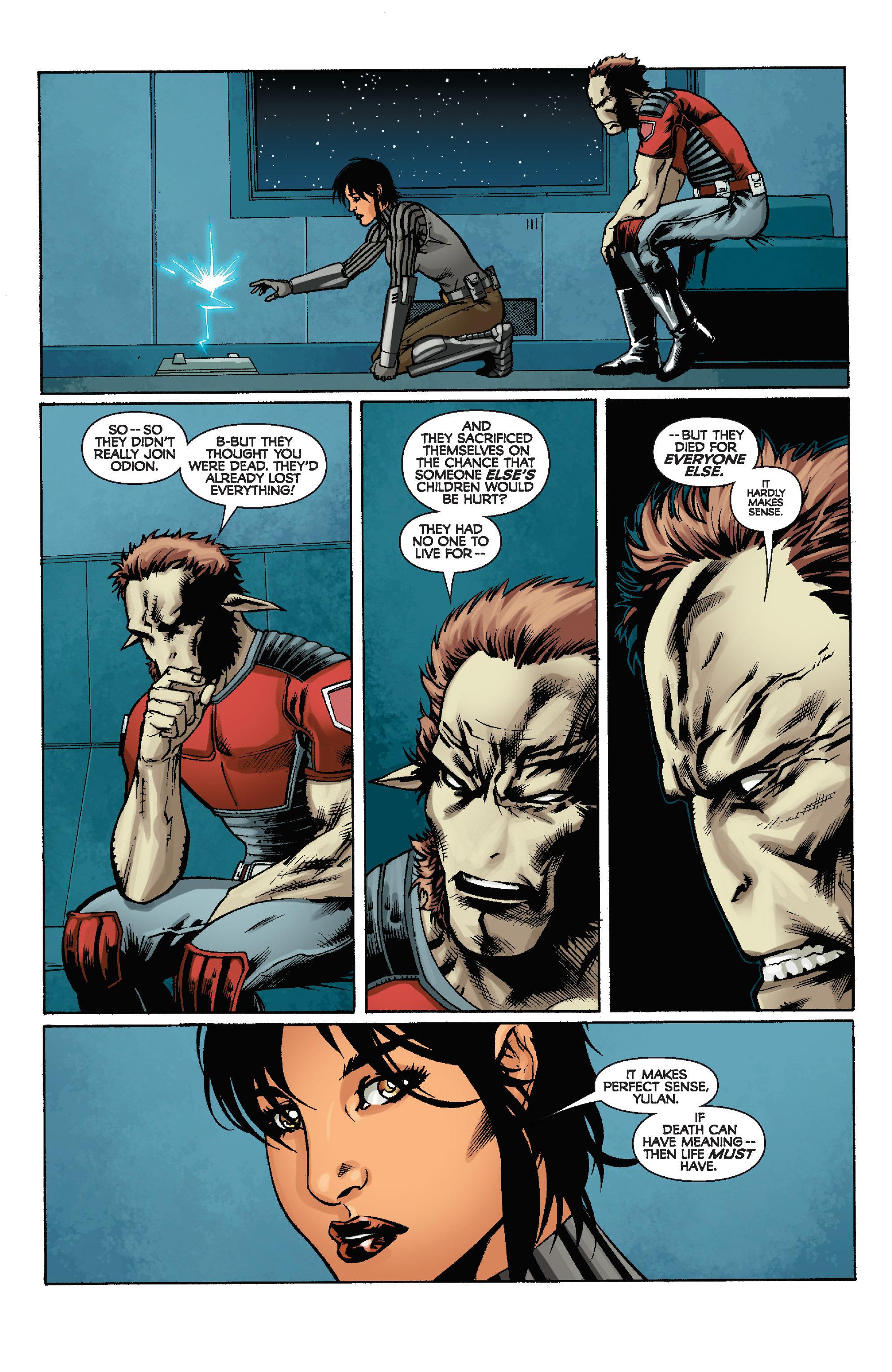 Read online Star Wars: Knight Errant - Escape comic -  Issue #4 - 22