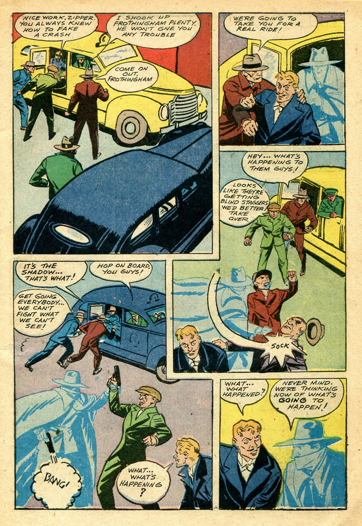 Read online Shadow Comics comic -  Issue #44 - 10