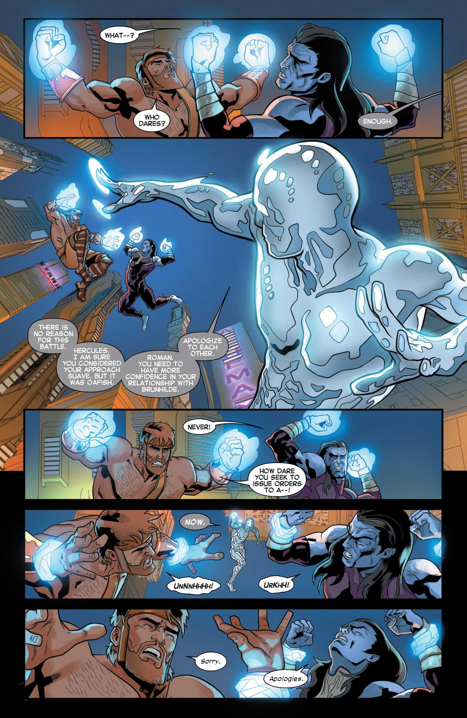 Read online Secret Wars 2099 comic -  Issue #3 - 9