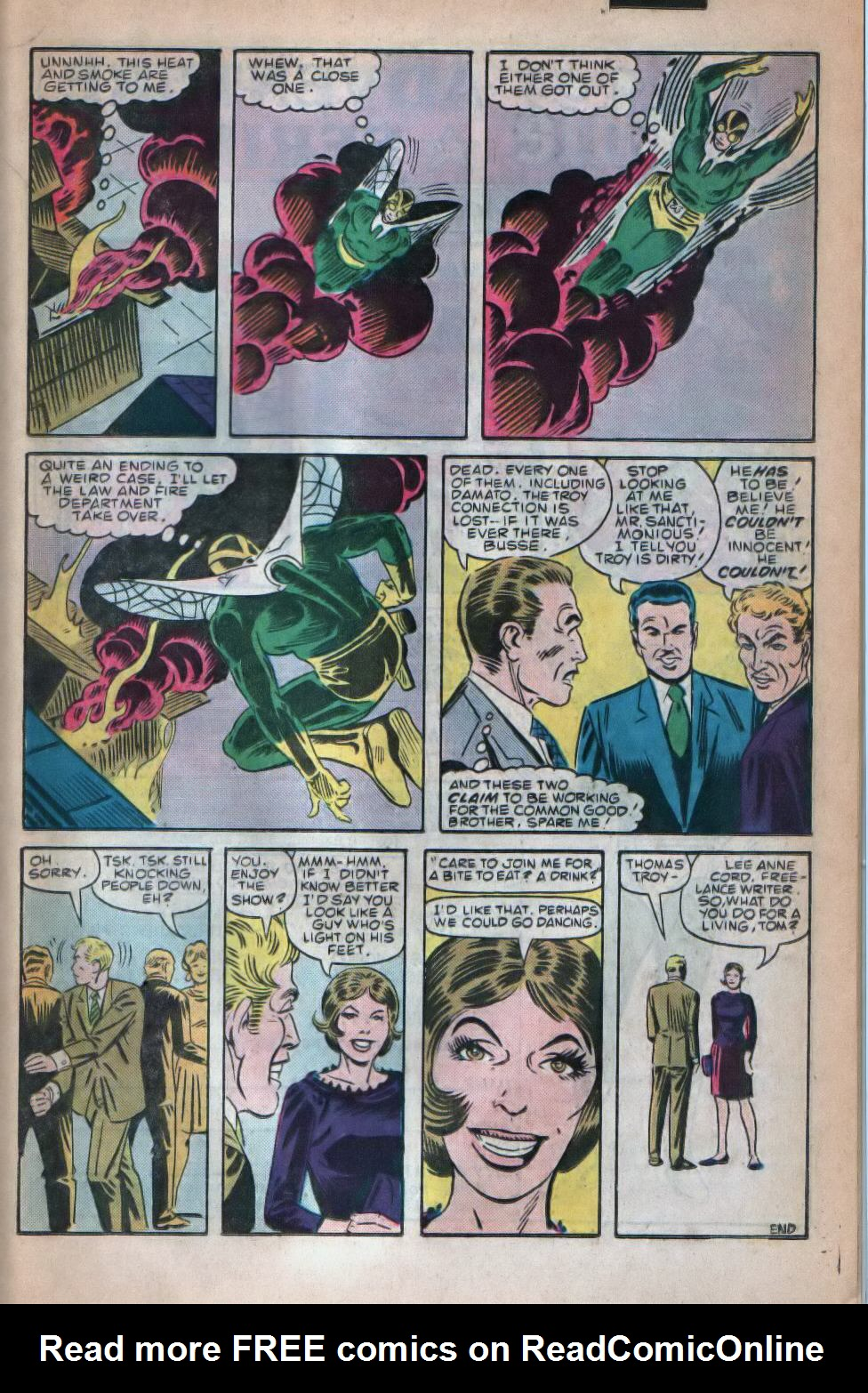 Read online The Fly (1983) comic -  Issue #8 - 16