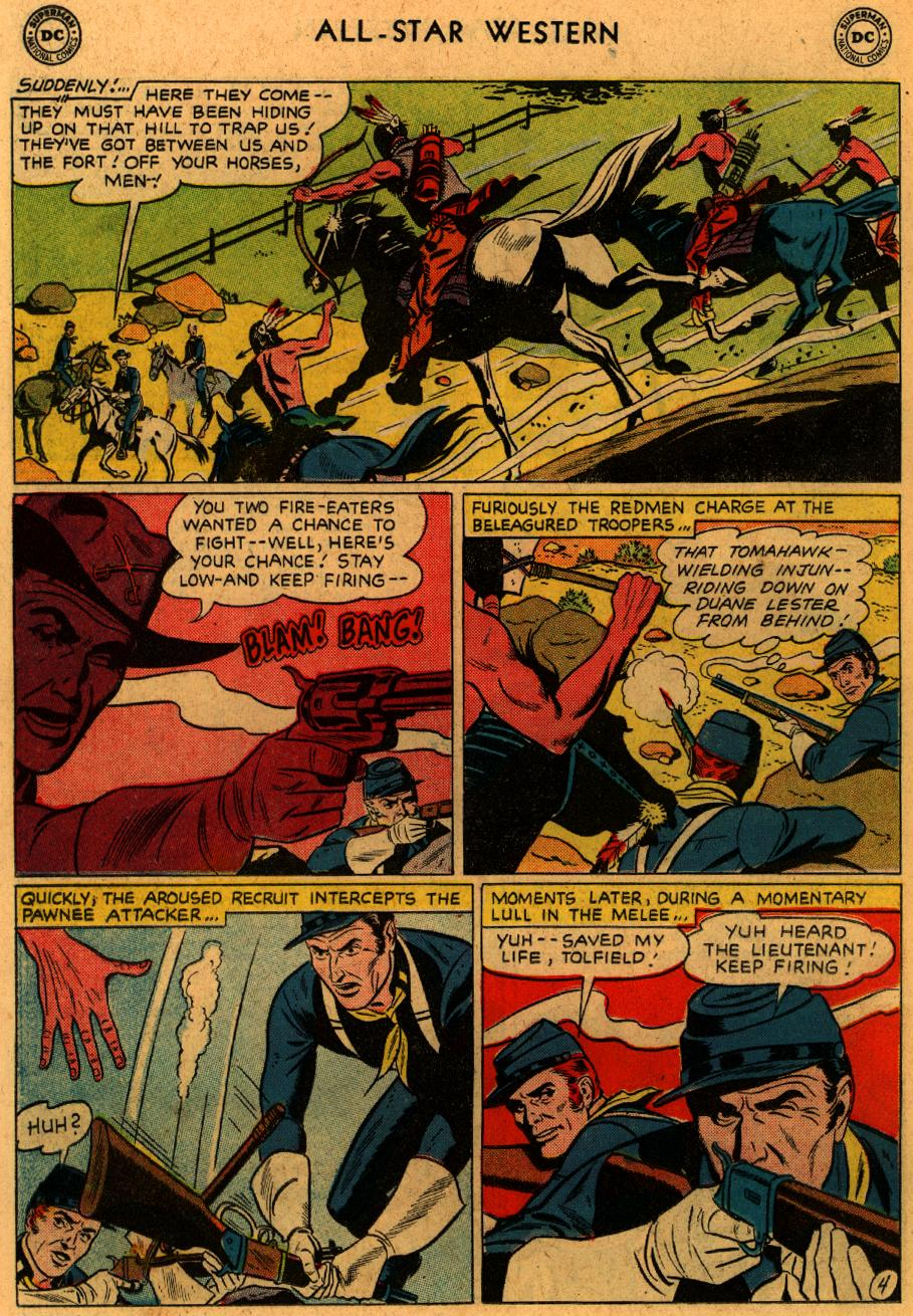 Read online All-Star Western (1951) comic -  Issue #102 - 18