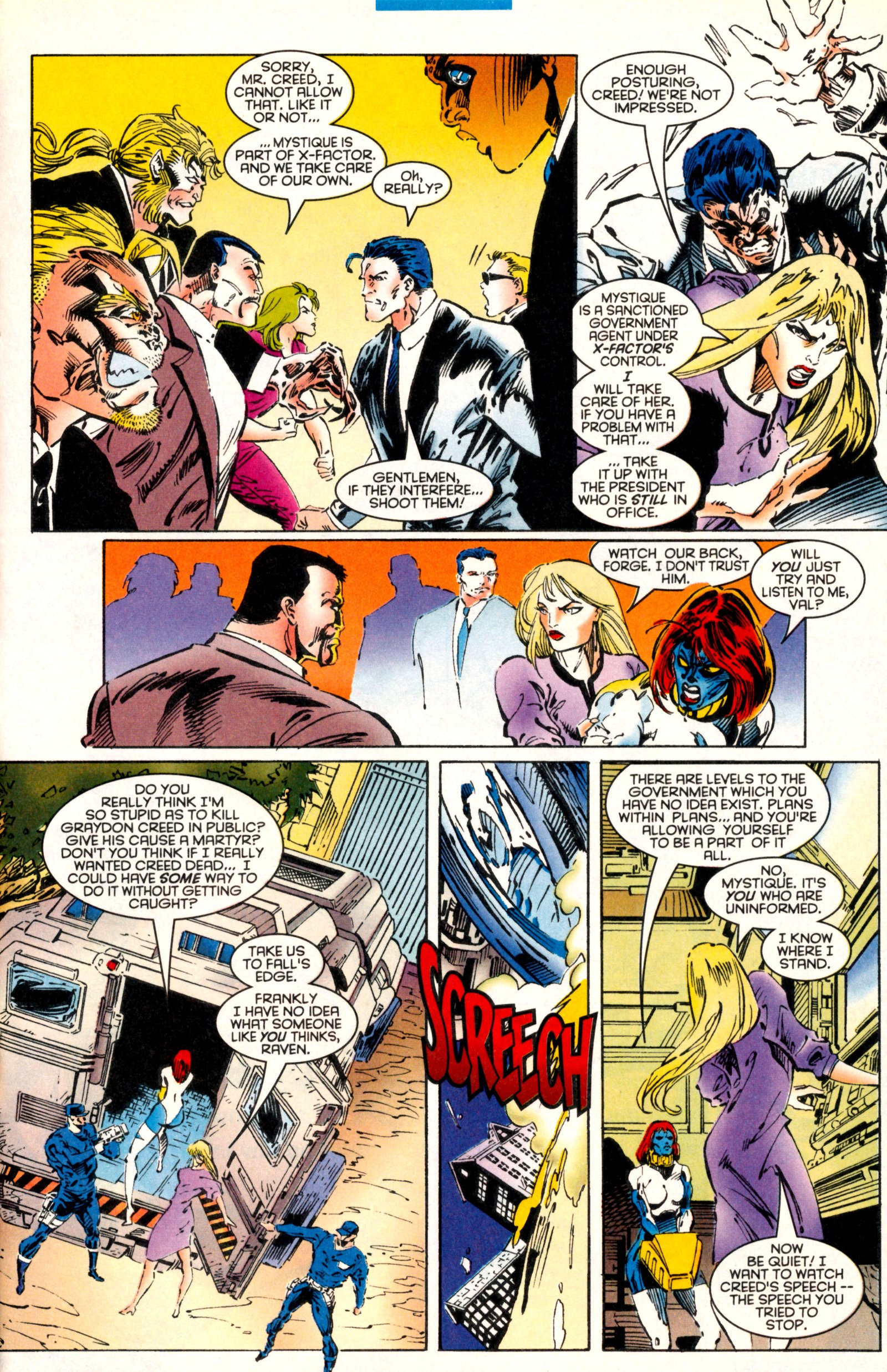Read online X-Factor (1986) comic -  Issue #130 - 23