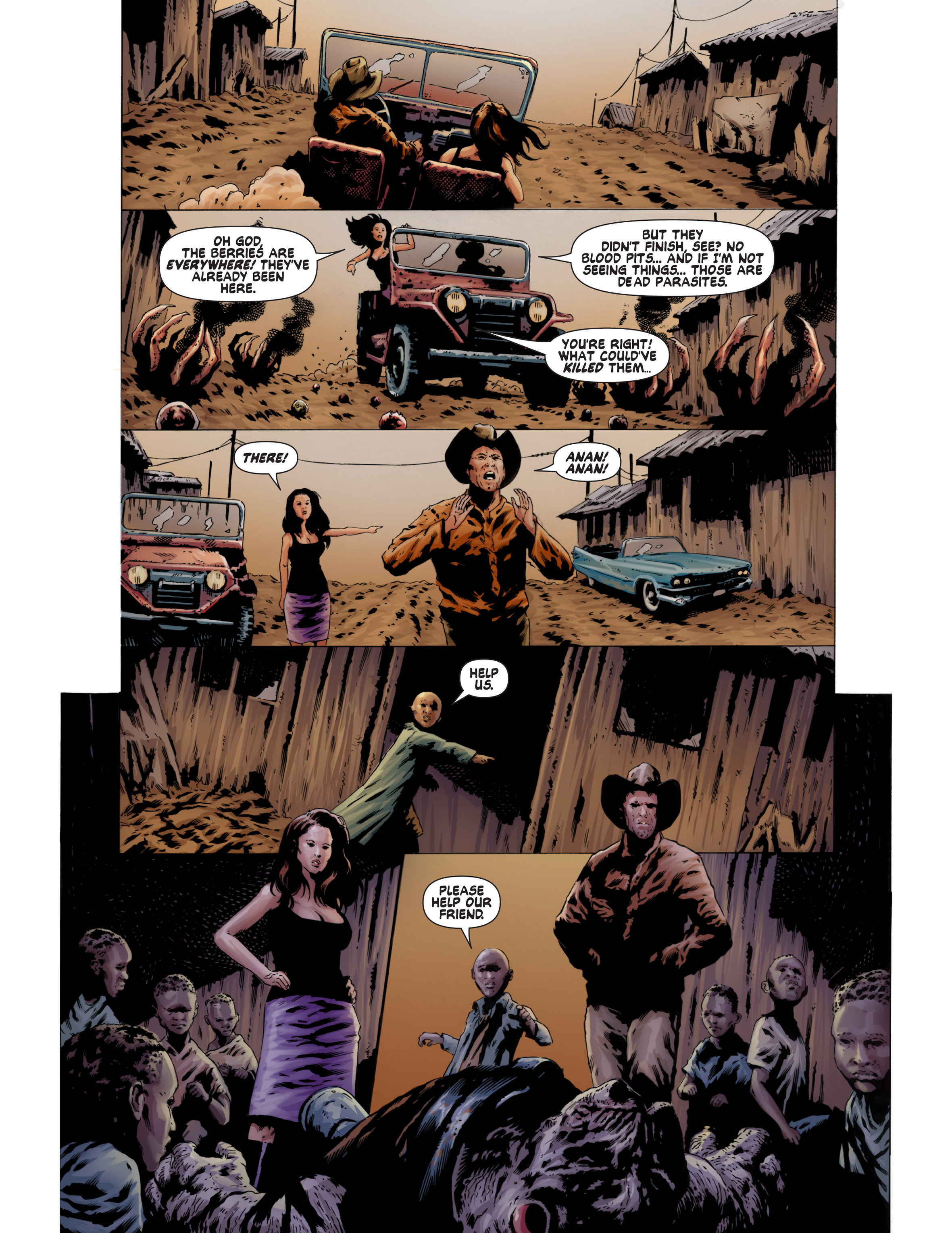 Read online Bad Planet comic -  Issue # TPB - 85