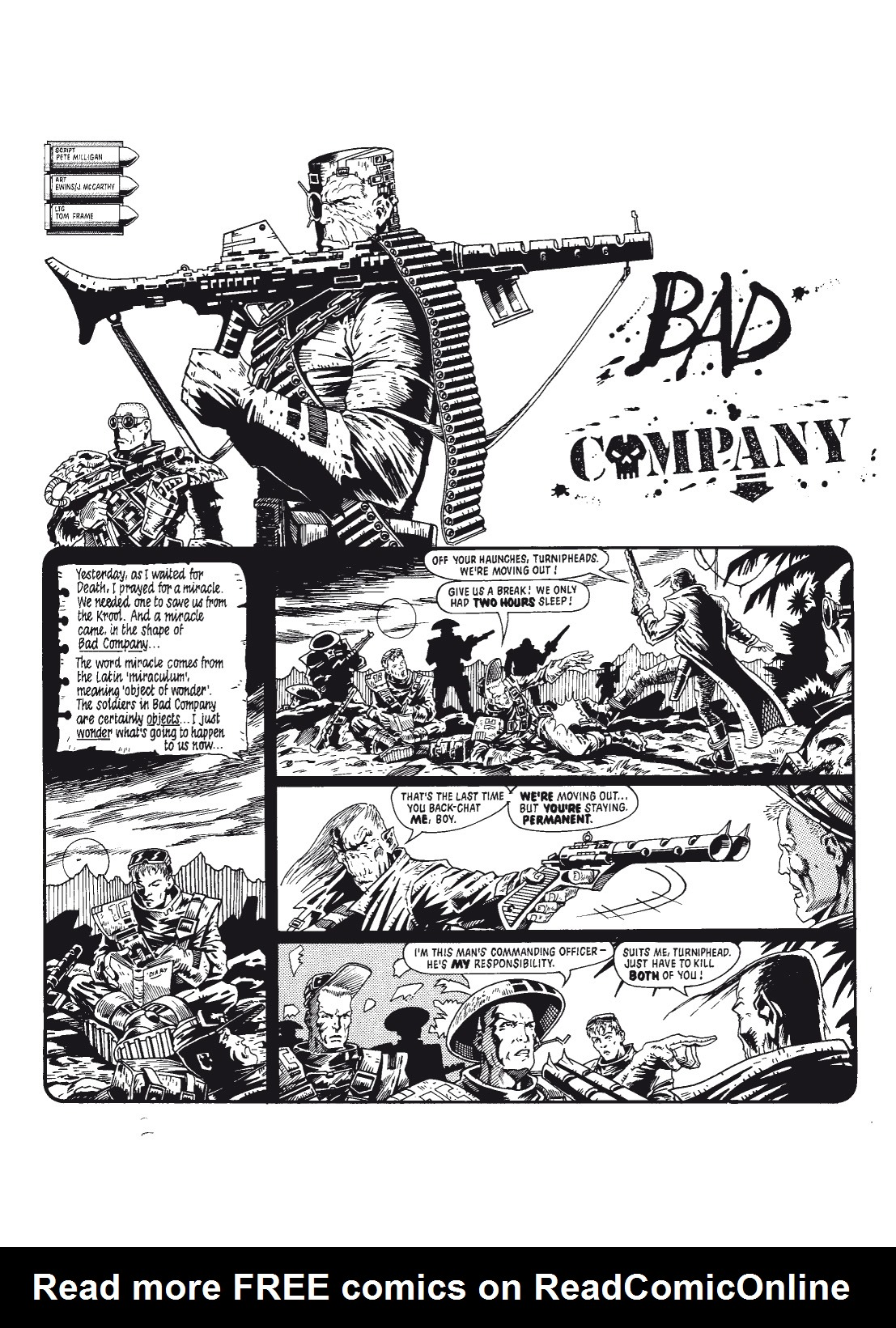 Read online The Complete Bad Company comic -  Issue # TPB - 12