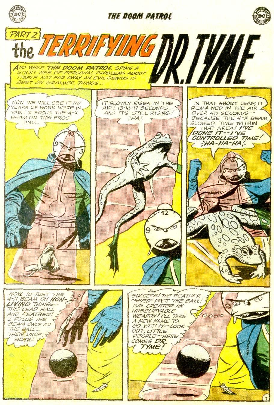 Doom Patrol (1964) issue 92 - Page 11