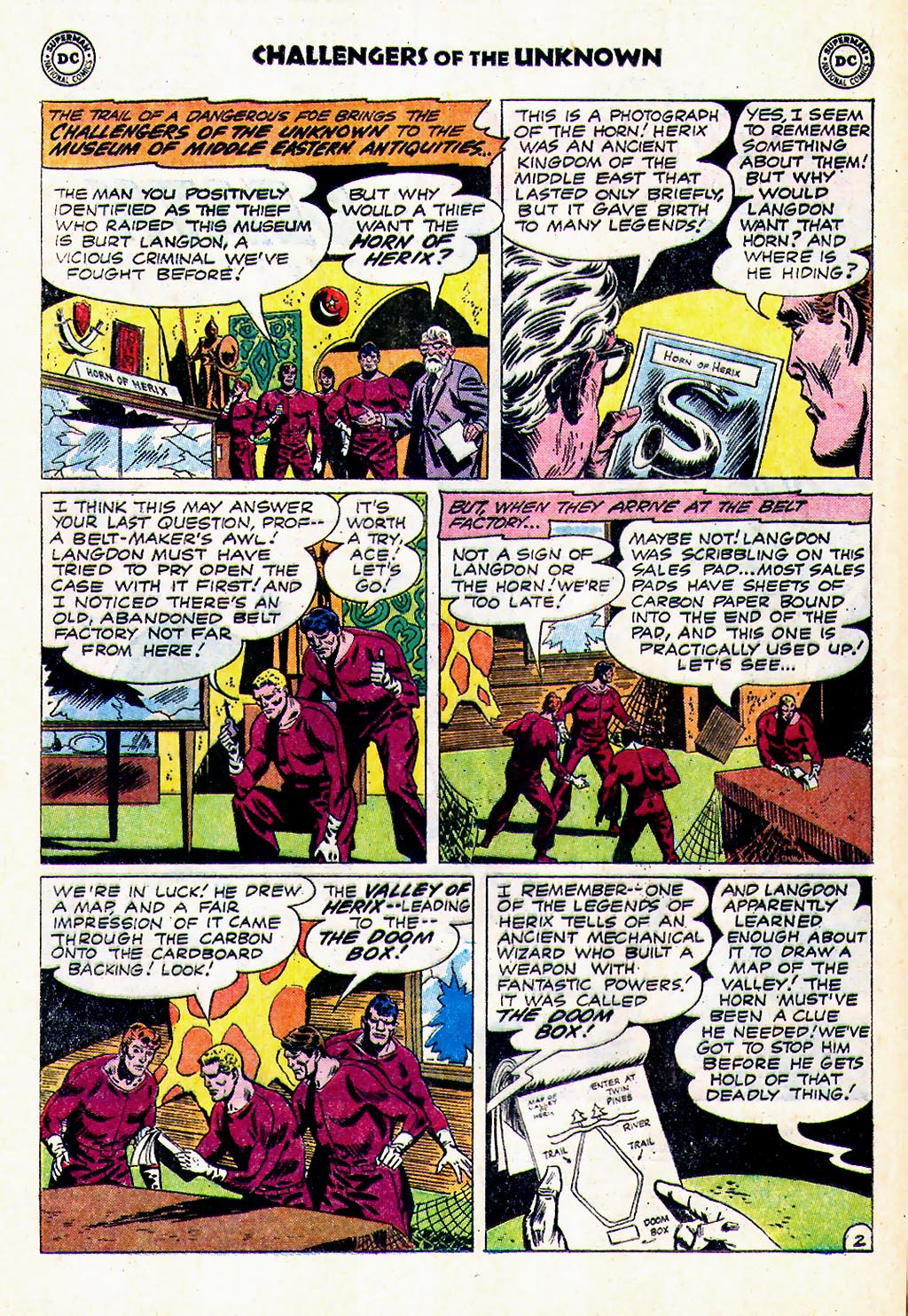 Challengers of the Unknown (1958) issue 23 - Page 4