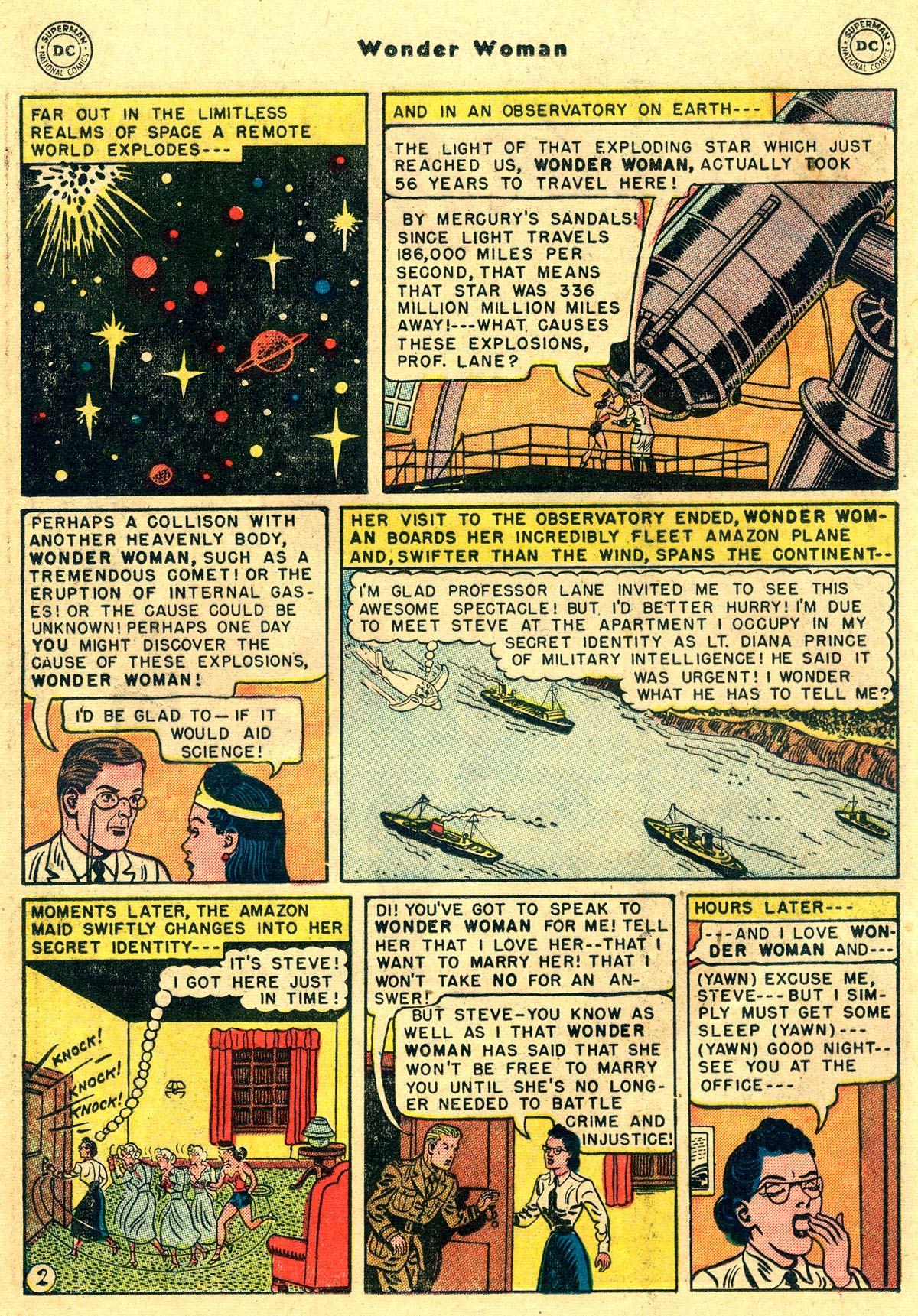 Read online Wonder Woman (1942) comic -  Issue #55 - 16